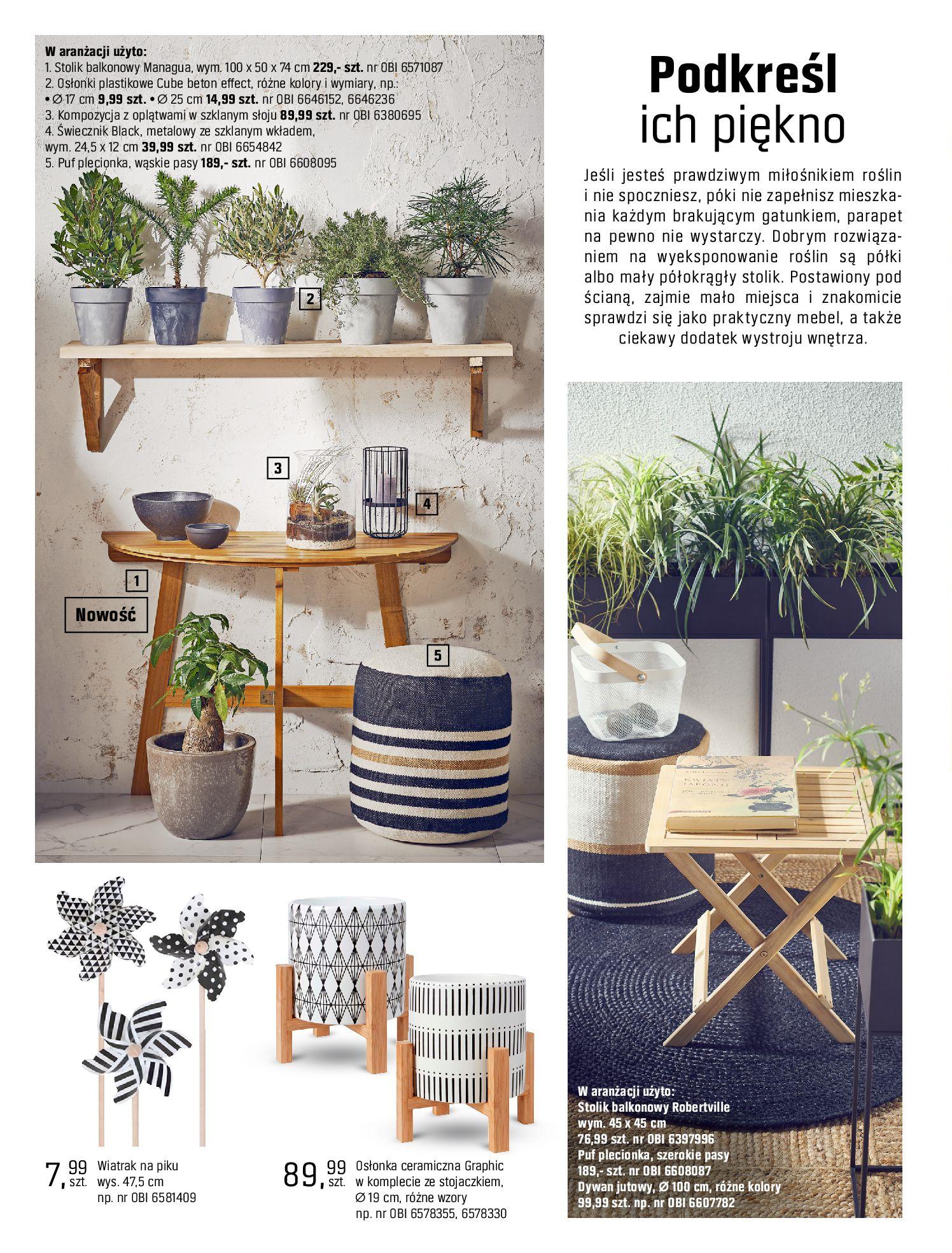 Gazetka OBI: Katalog OBI - Ogród, balkon, taras 2021-05-14 page-102