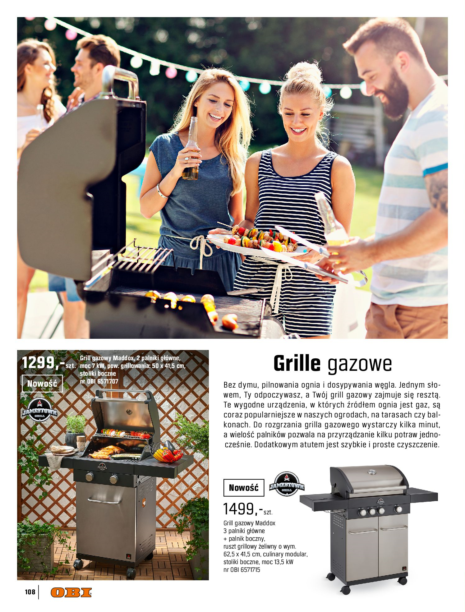 Gazetka OBI: Katalog OBI - Ogród, balkon, taras 2021-05-14 page-108