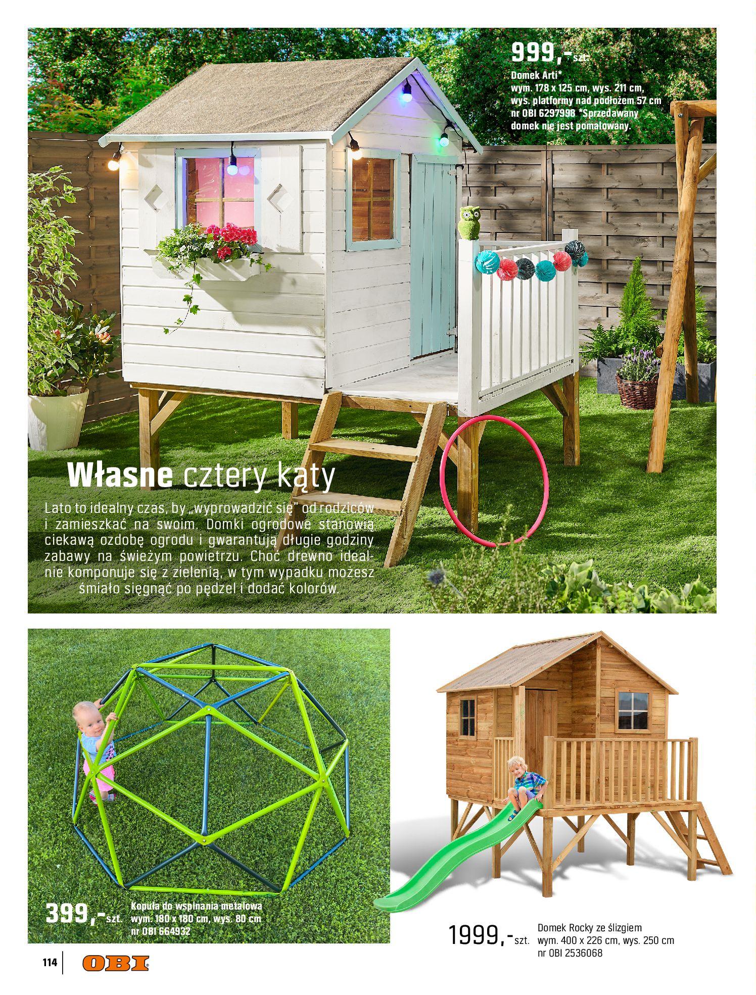 Gazetka OBI: Katalog OBI - Ogród, balkon, taras 2021-05-14 page-114