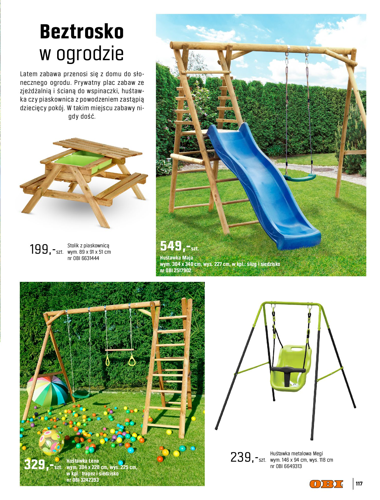 Gazetka OBI: Katalog OBI - Ogród, balkon, taras 2021-05-14 page-117