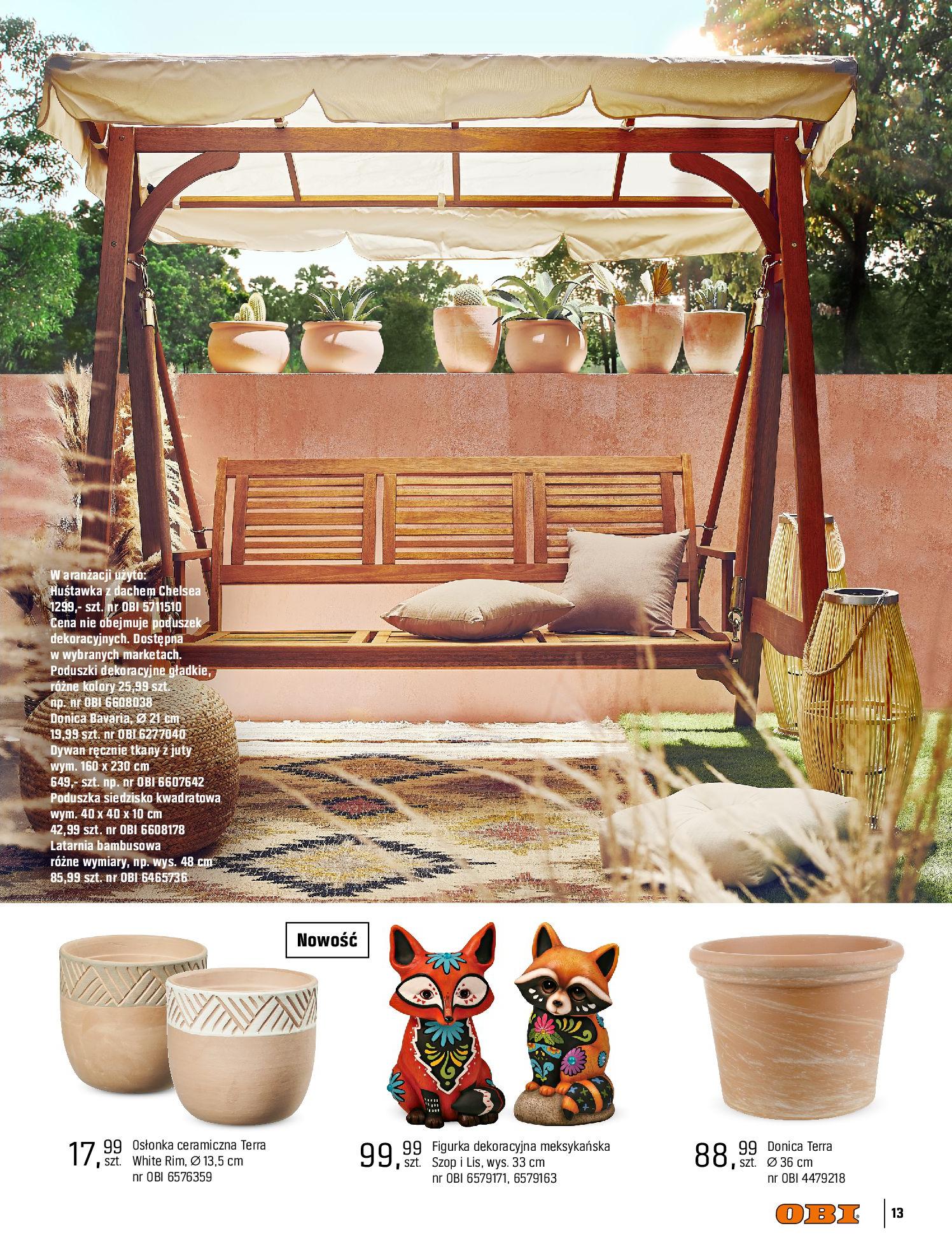 Gazetka OBI: Katalog OBI - Ogród, balkon, taras 2021-05-14 page-13
