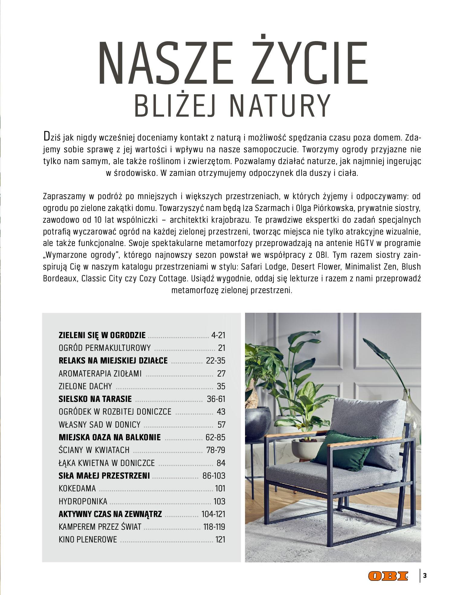 Gazetka OBI: Katalog OBI - Ogród, balkon, taras 2021-05-14 page-3