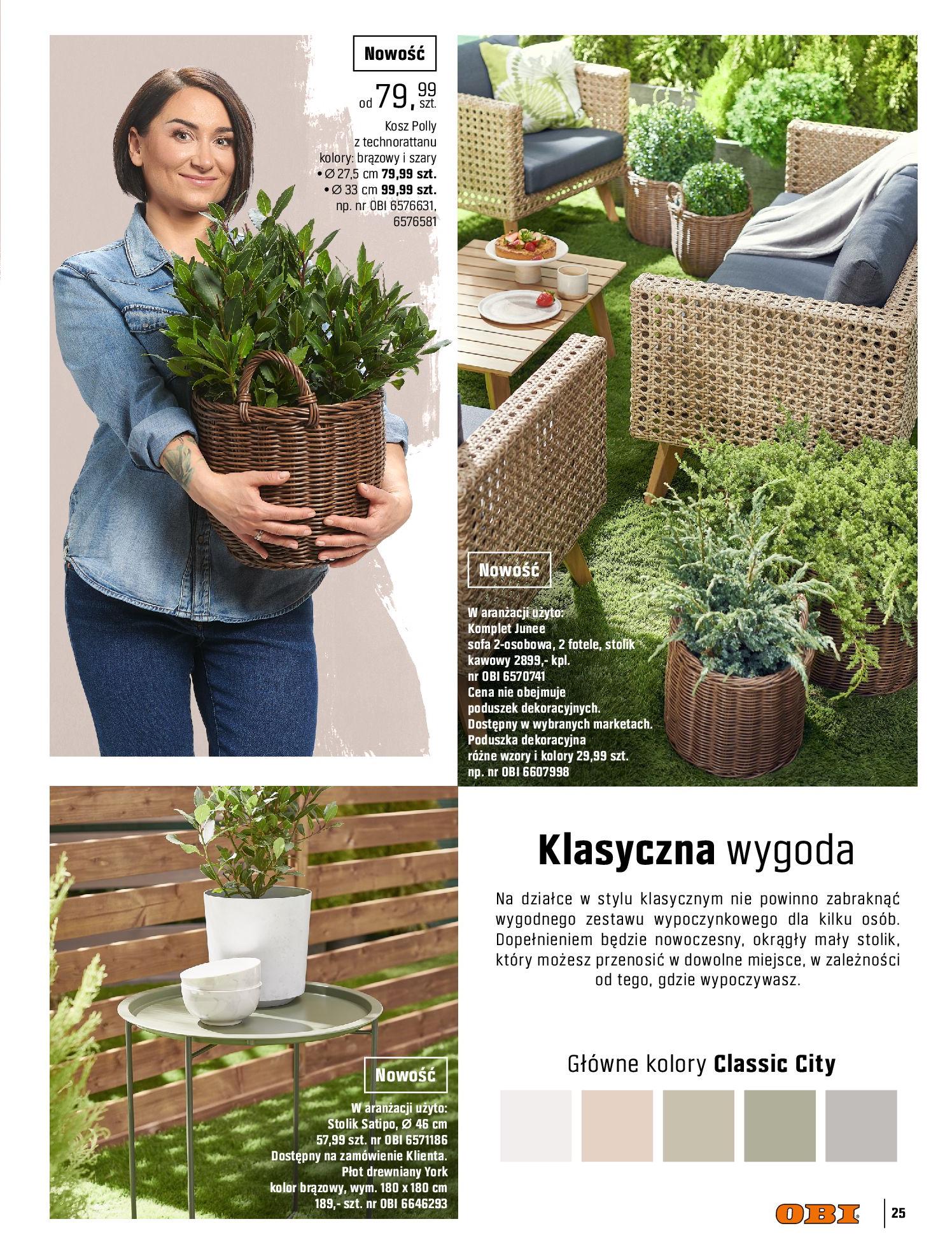 Gazetka OBI: Katalog OBI - Ogród, balkon, taras 2021-05-14 page-25