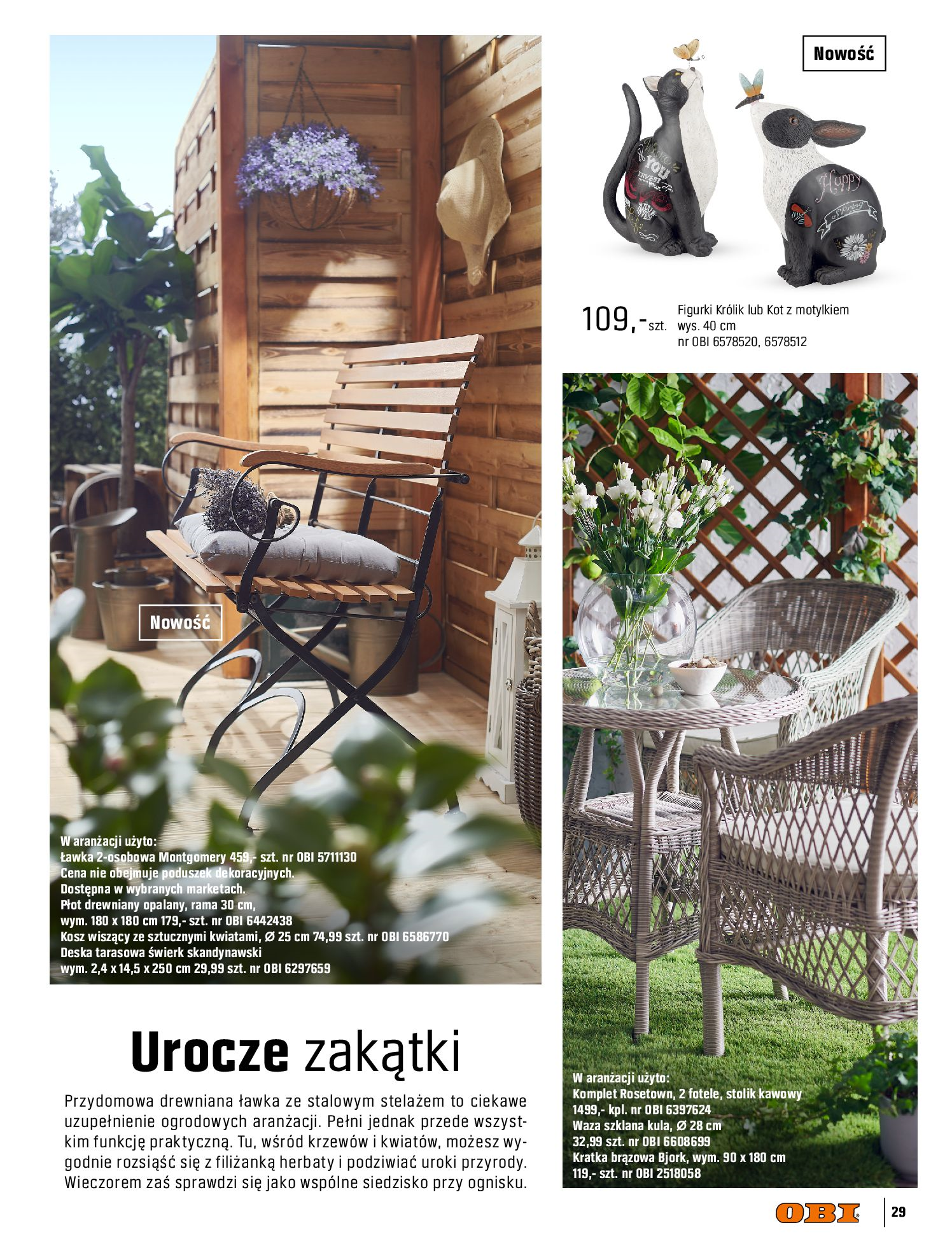Gazetka OBI: Katalog OBI - Ogród, balkon, taras 2021-05-14 page-29