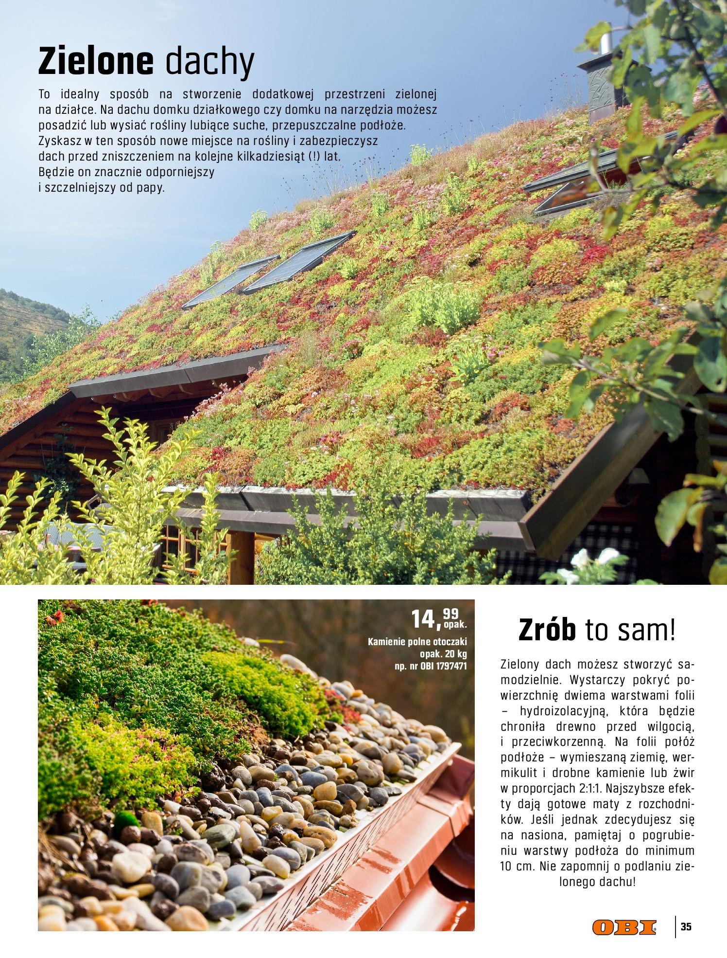 Gazetka OBI: Katalog OBI - Ogród, balkon, taras 2021-05-14 page-35
