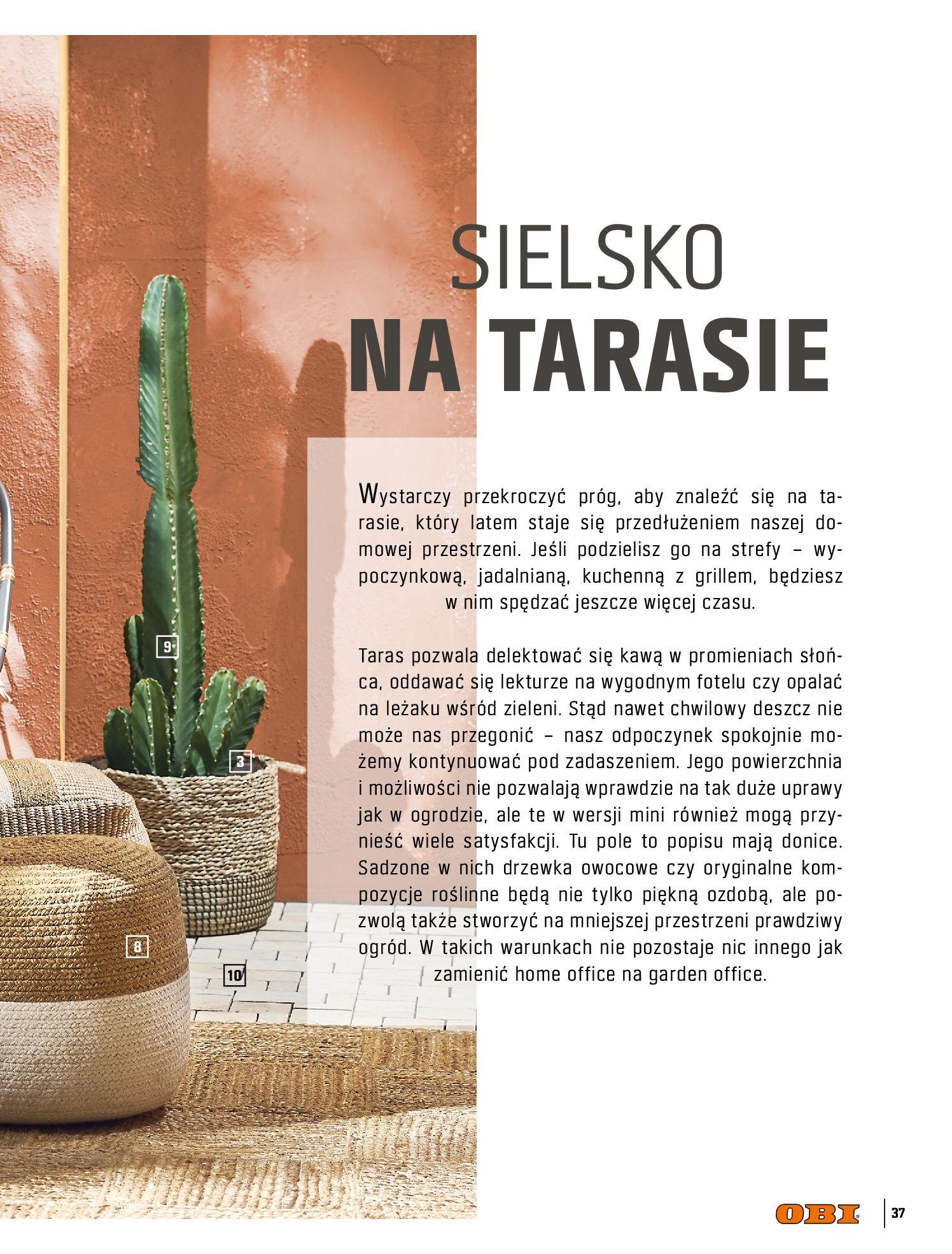 Gazetka OBI: Katalog OBI - Ogród, balkon, taras 2021-05-14 page-37
