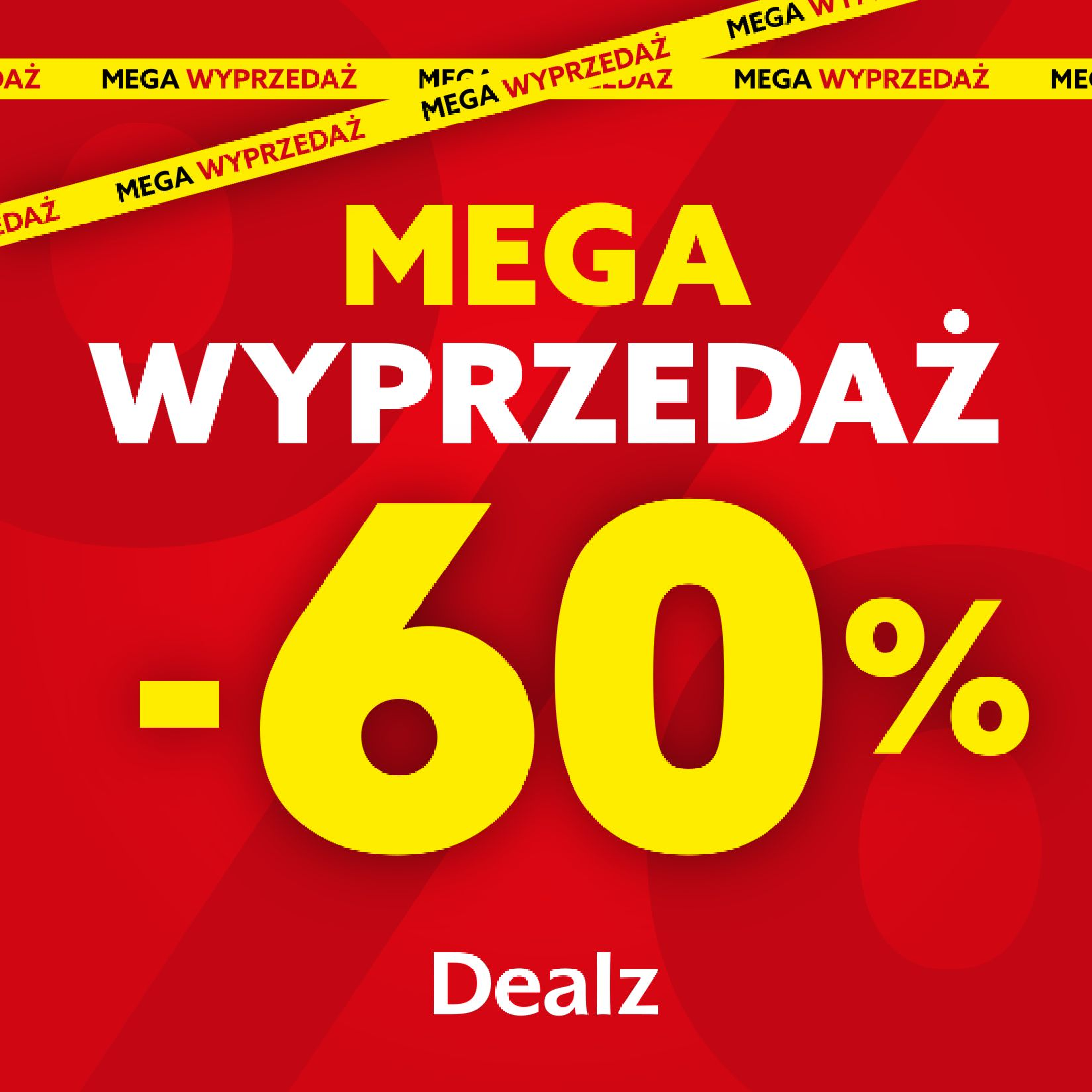 Dealz :  Gazetka Dealz - Mega wyprzedażde 12.09.2021