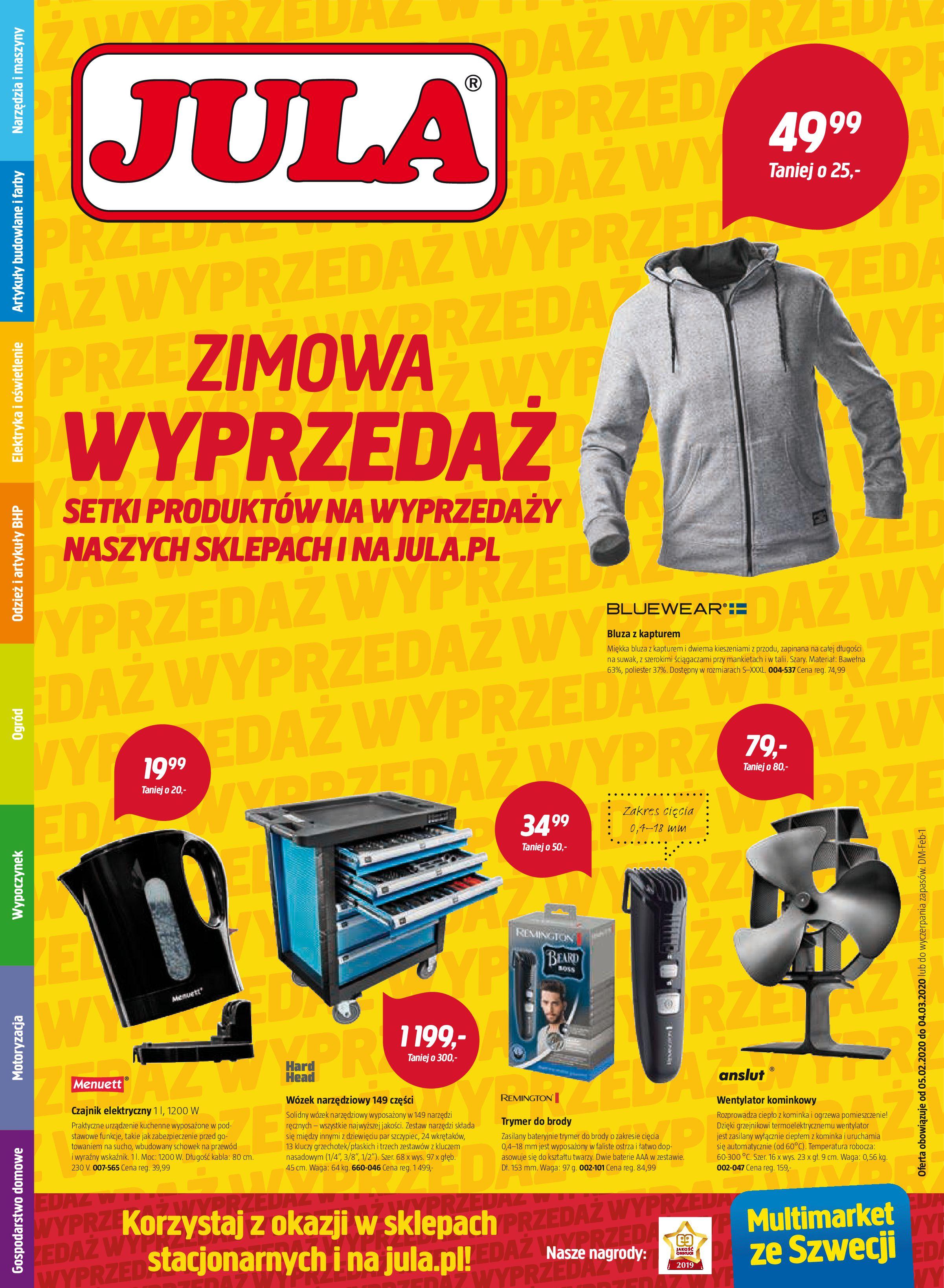 Gazetka Jula - Oferta promocyjna-04.02.2020-04.03.2020-page-1