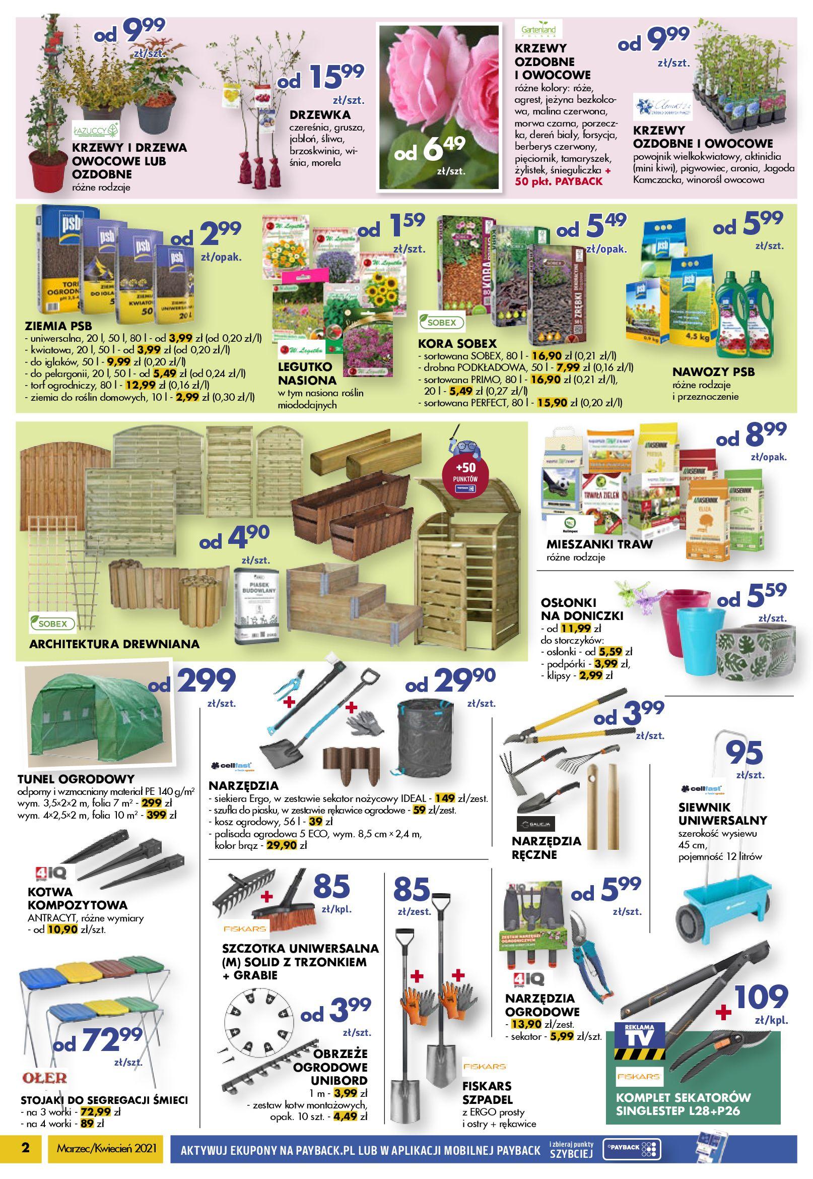 Gazetka PSB Mrówka: Katalog Marzec/Kwiecień 2021-03-26 page-2
