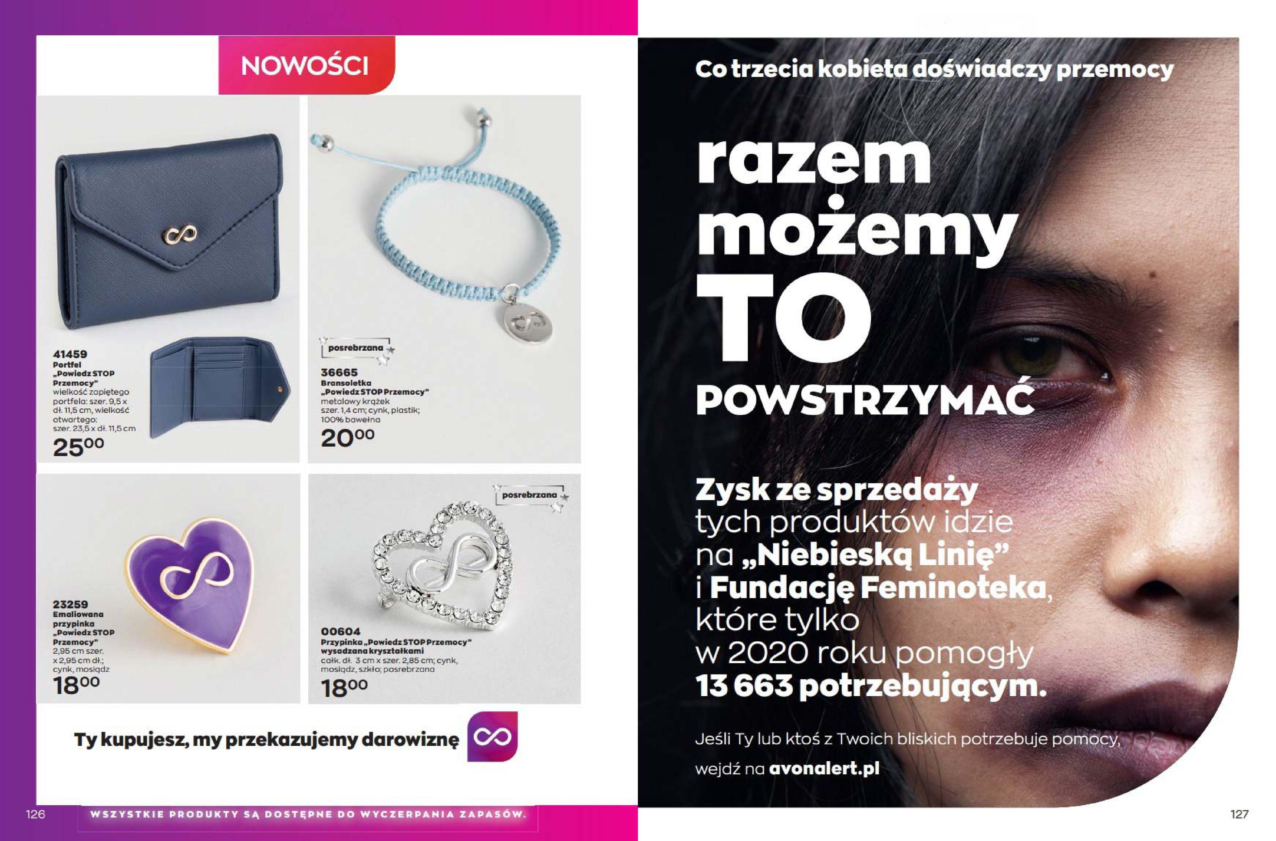 Gazetka Avon: Katalog Avon Wrzesień 2021 2021-09-01 page-64