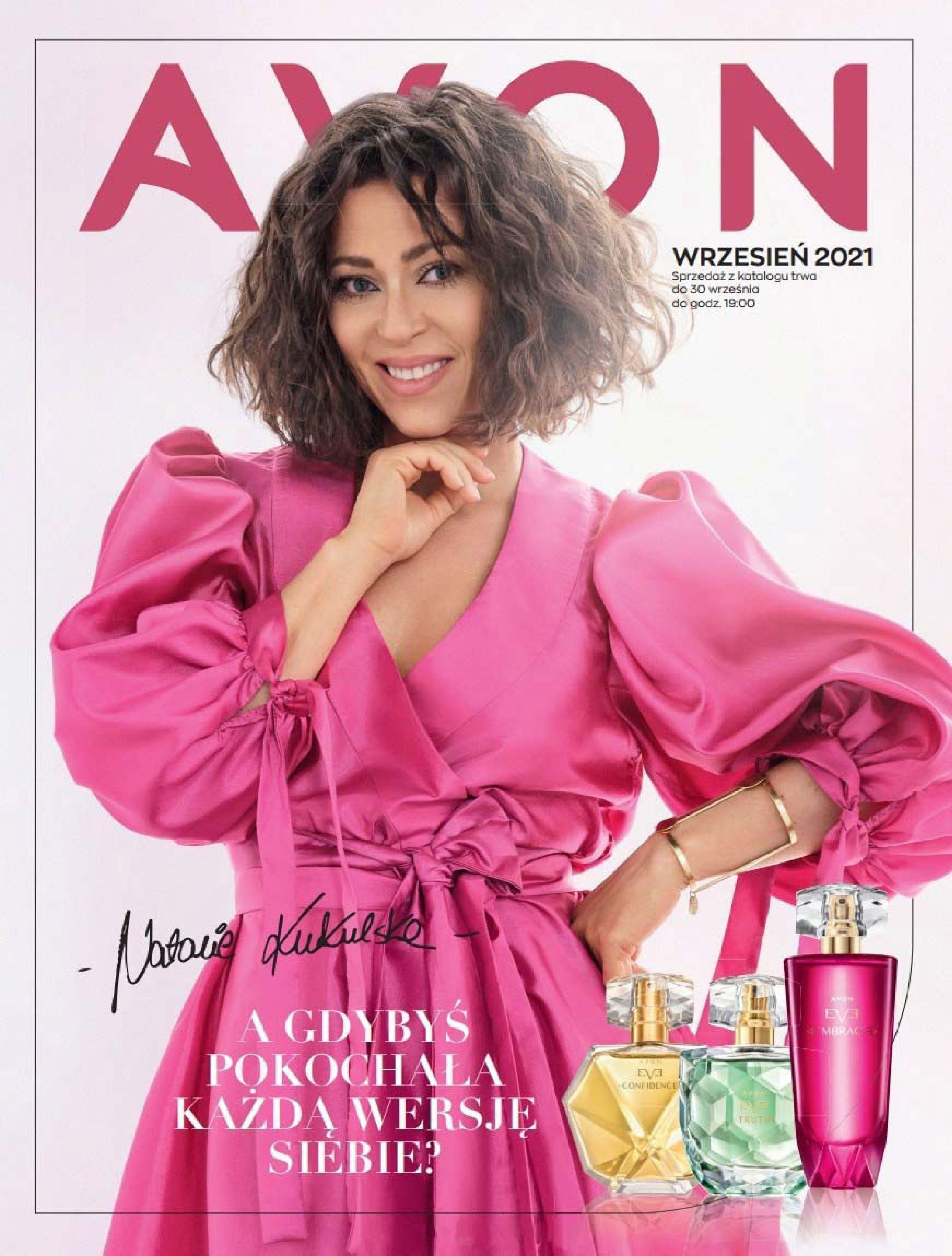 Gazetka Avon: Katalog Avon Wrzesień 2021 2021-09-01 page-1