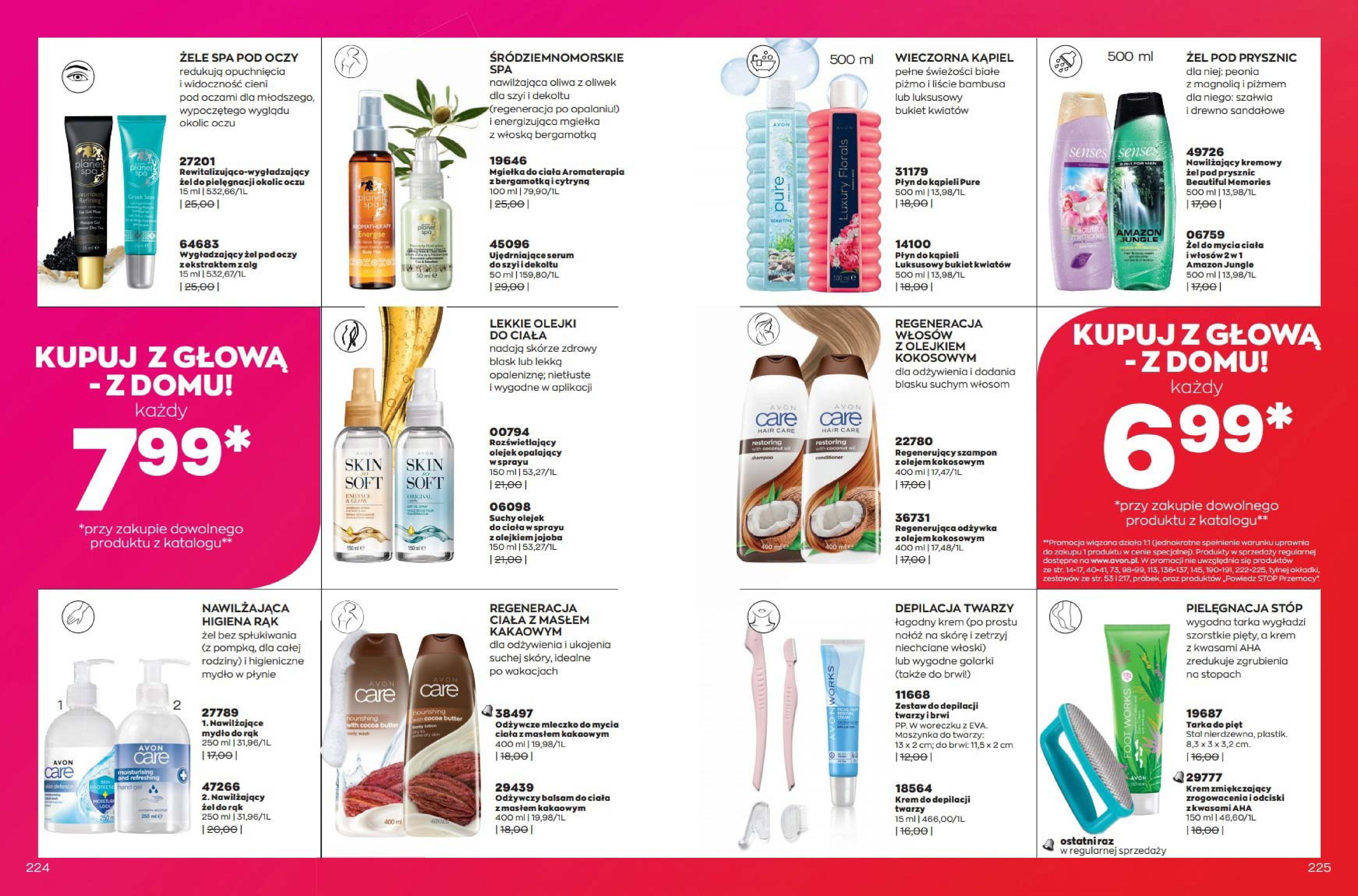 Gazetka Avon: Katalog Avon Wrzesień 2021 2021-09-01 page-113