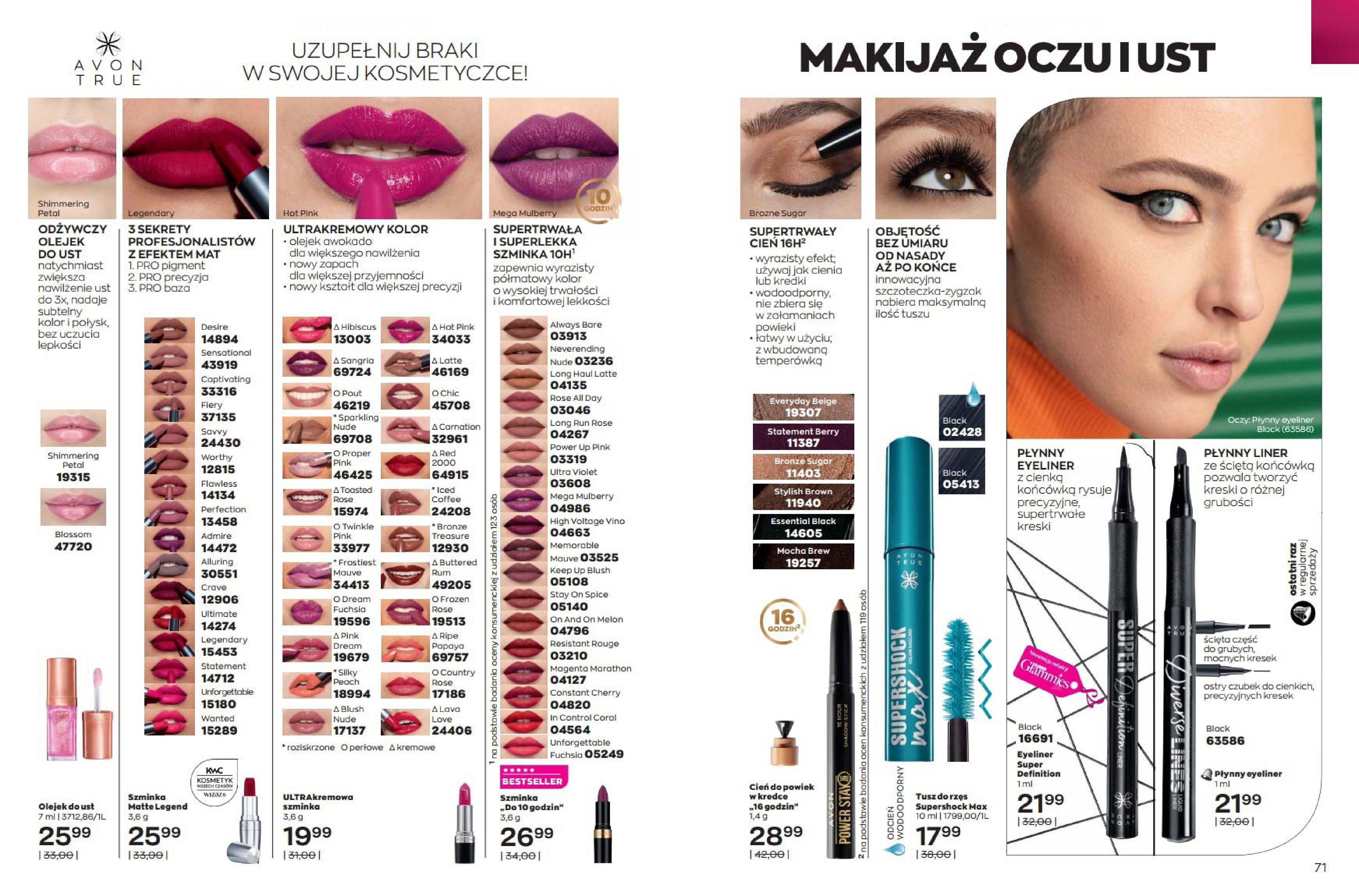 Gazetka Avon: Katalog Avon Wrzesień 2021 2021-09-01 page-36