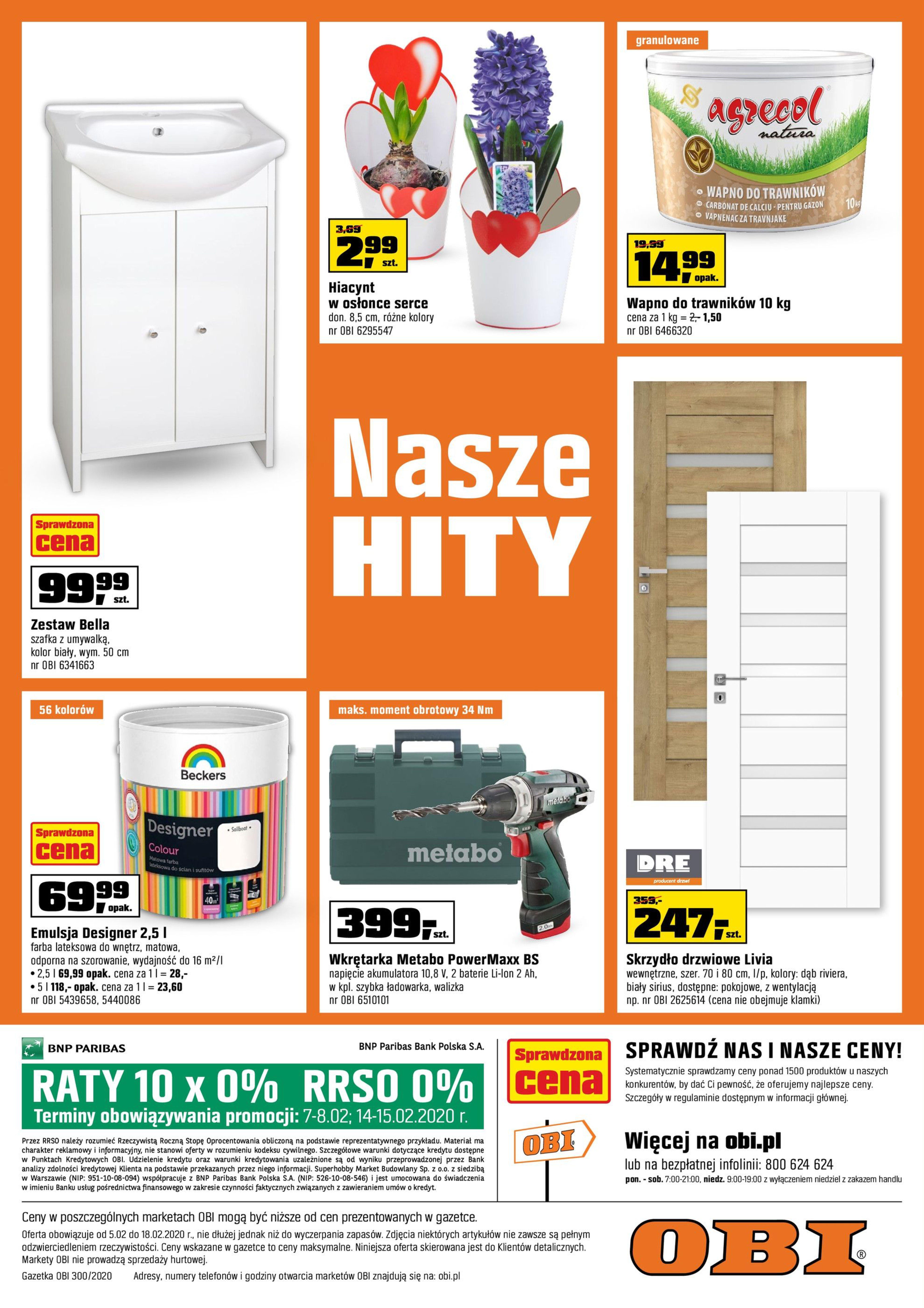 Gazetka OBI - Stylowo i komfortowo-04.02.2020-18.02.2020-page-16