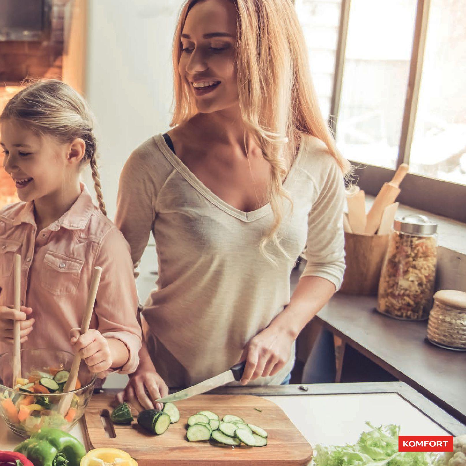 Gazetka Komfort: Gazetka Komfort - Katalog Kuchnie 2021 2021-06-16 page-5