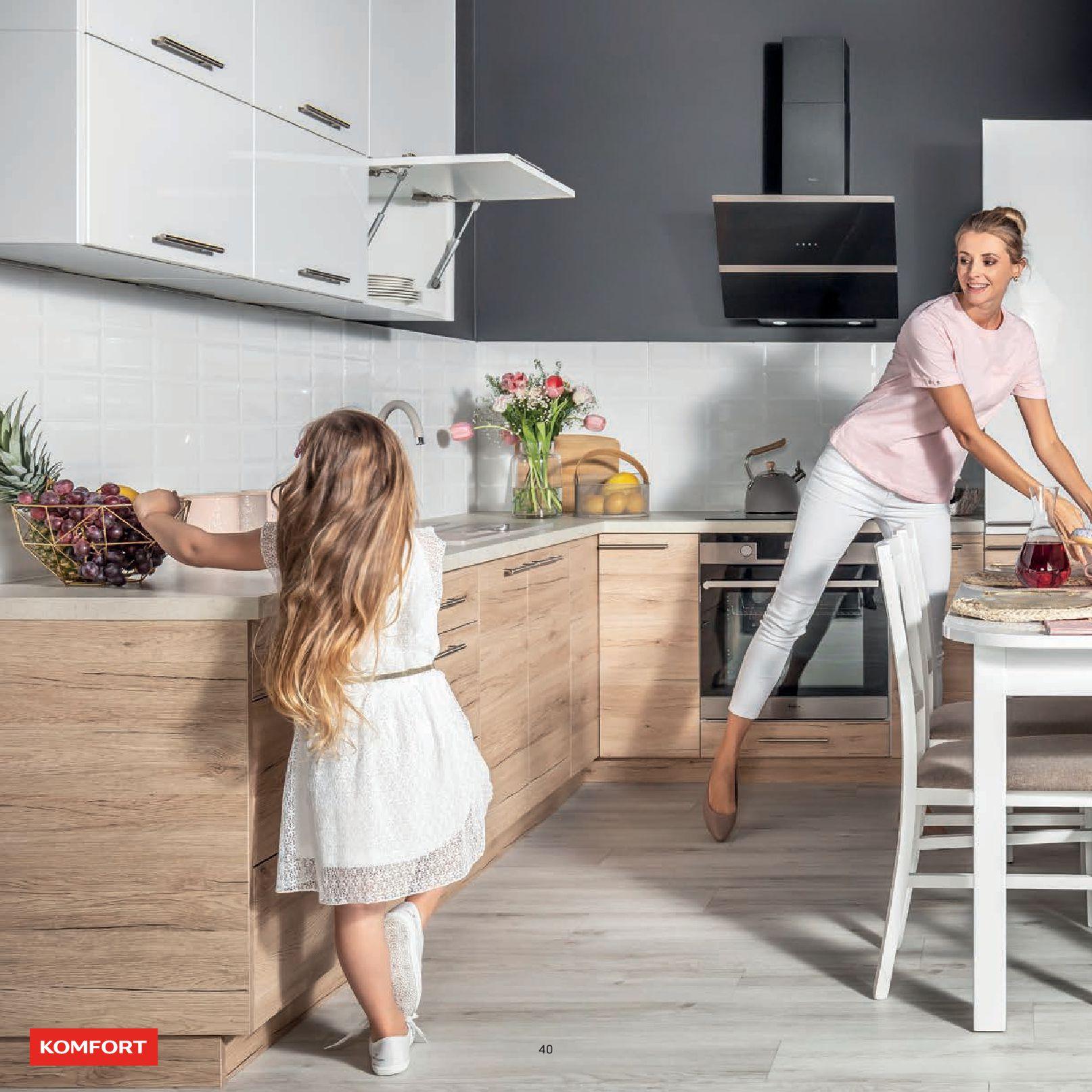 Gazetka Komfort: Gazetka Komfort - Katalog Kuchnie 2021 2021-06-16 page-42
