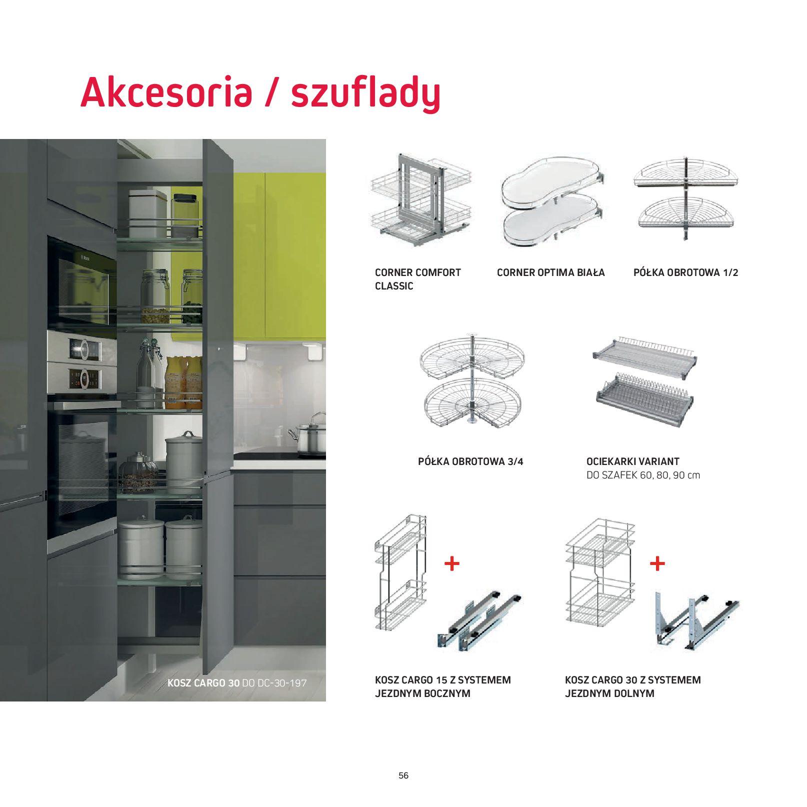 Gazetka Komfort: Gazetka Komfort - Katalog Kuchnie 2021 2021-06-16 page-58