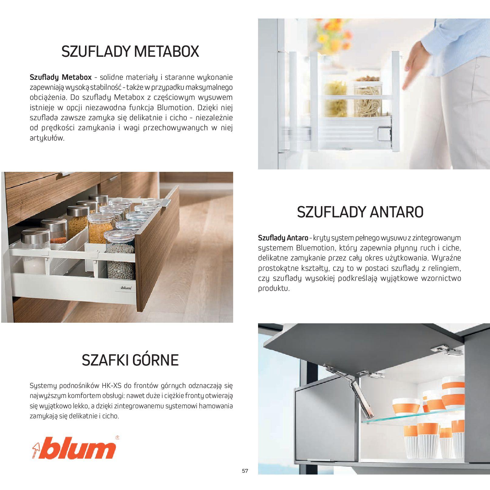 Gazetka Komfort: Gazetka Komfort - Katalog Kuchnie 2021 2021-06-16 page-59