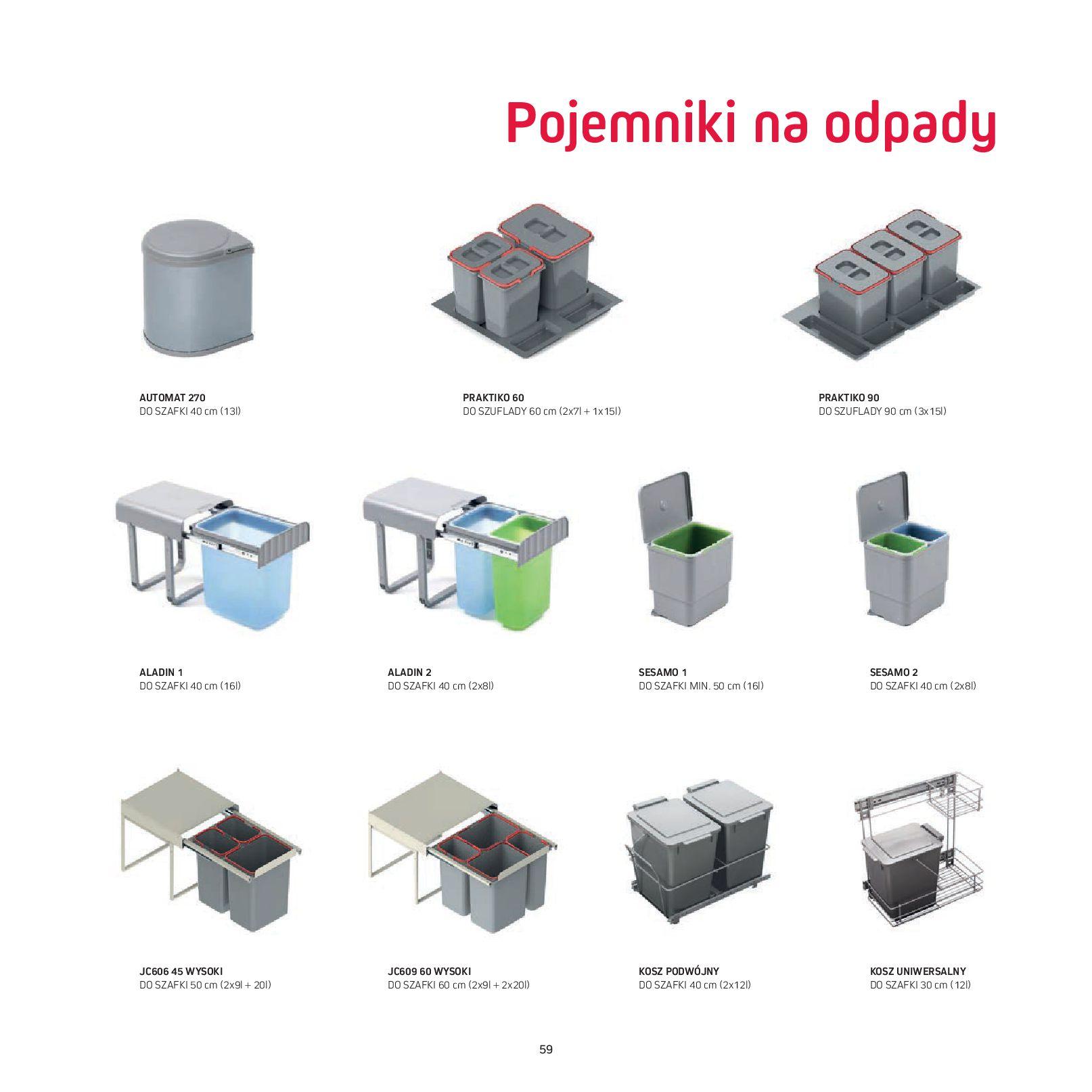 Gazetka Komfort: Gazetka Komfort - Katalog Kuchnie 2021 2021-06-16 page-61
