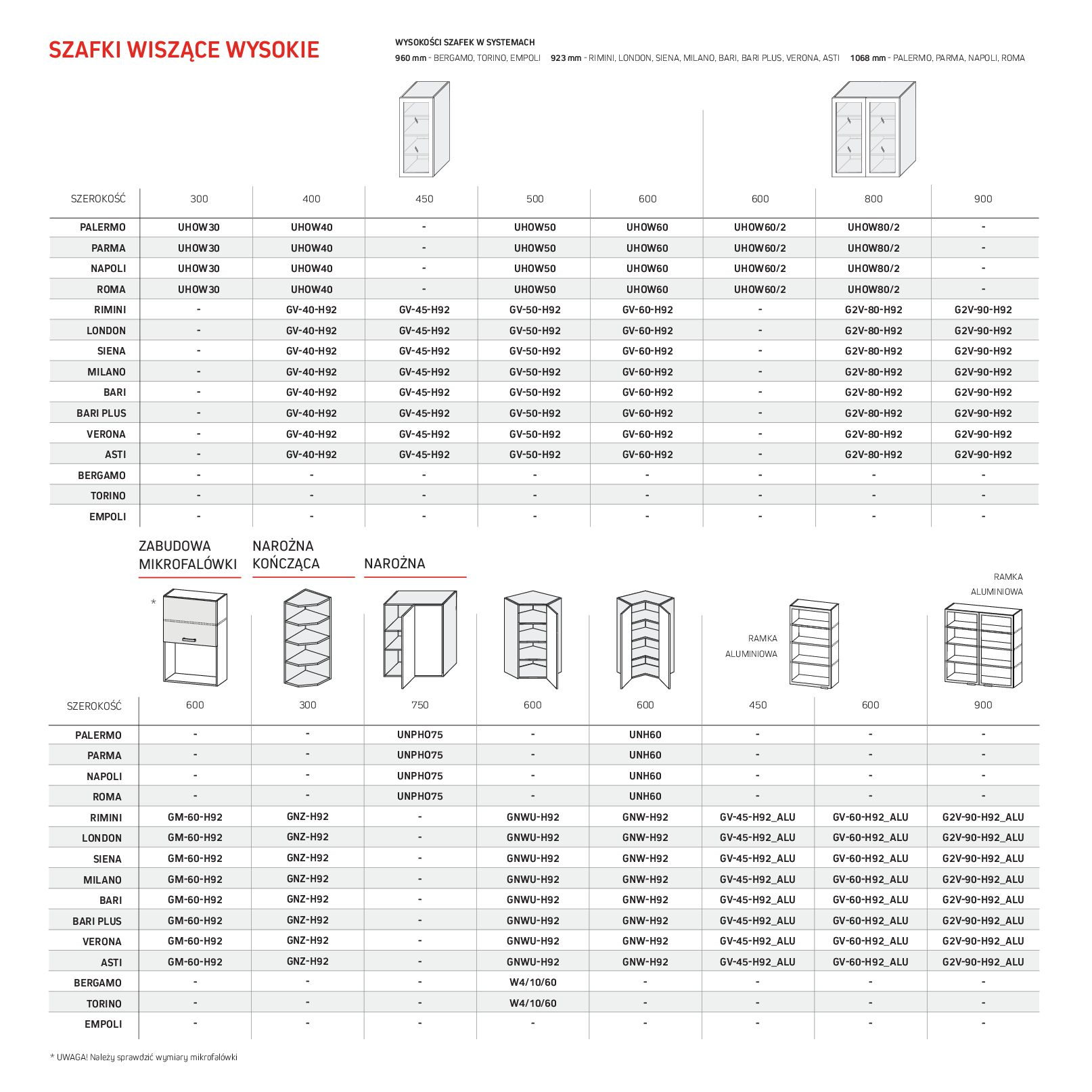 Gazetka Komfort: Gazetka Komfort - Katalog Kuchnie 2021 2021-06-16 page-66