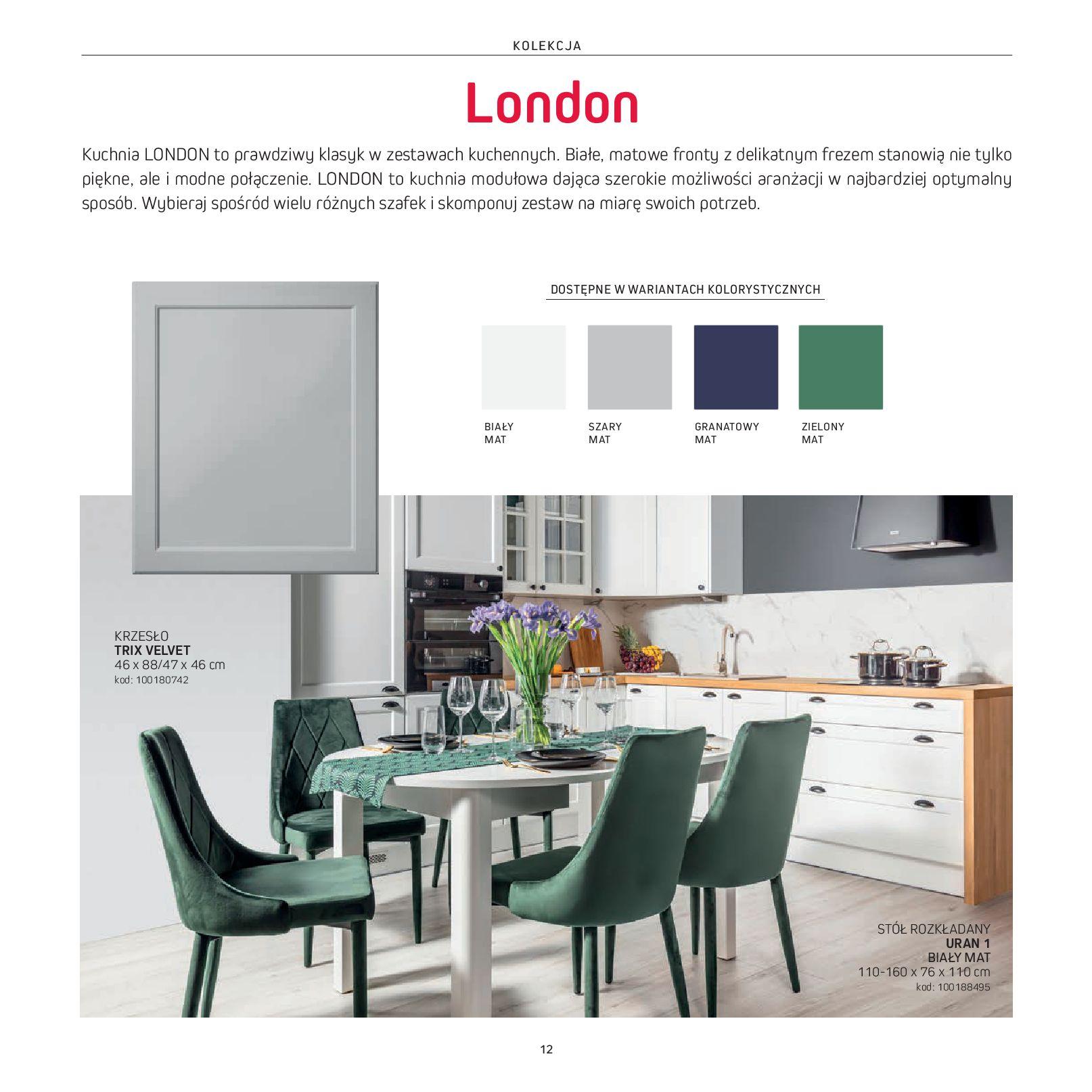 Gazetka Komfort: Gazetka Komfort - Katalog Kuchnie 2021 2021-06-16 page-14