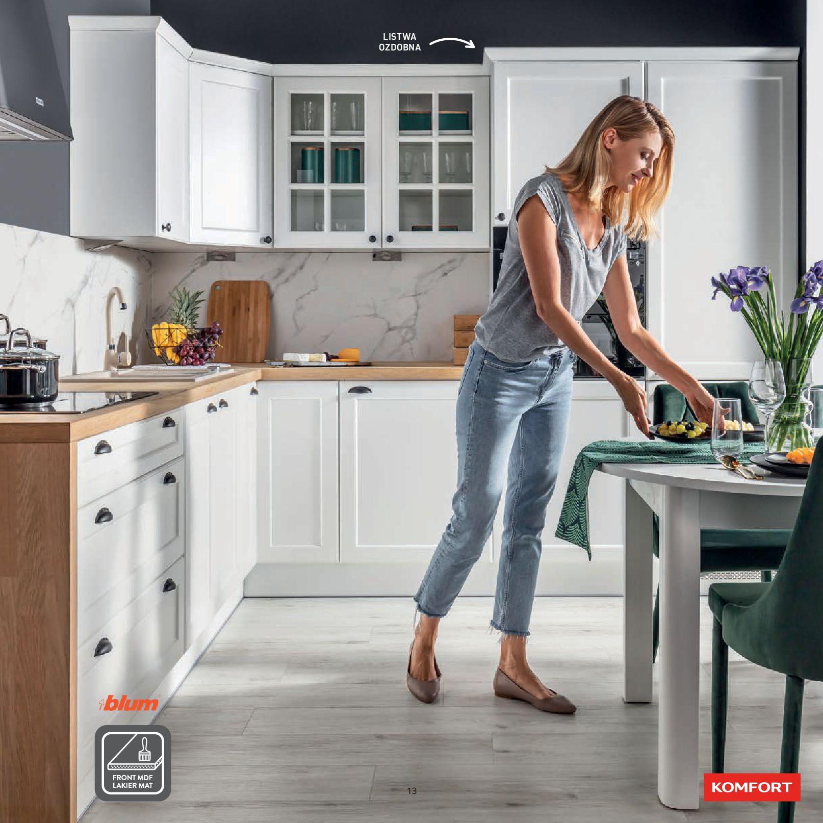 Gazetka Komfort: Gazetka Komfort - Katalog Kuchnie 2021 2021-06-16 page-15