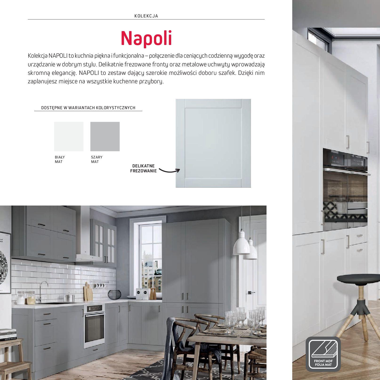 Gazetka Komfort: Gazetka Komfort - Katalog Kuchnie 2021 2021-06-16 page-18