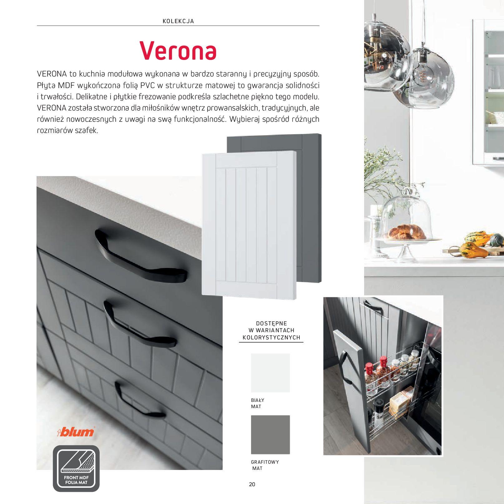 Gazetka Komfort: Gazetka Komfort - Katalog Kuchnie 2021 2021-06-16 page-22