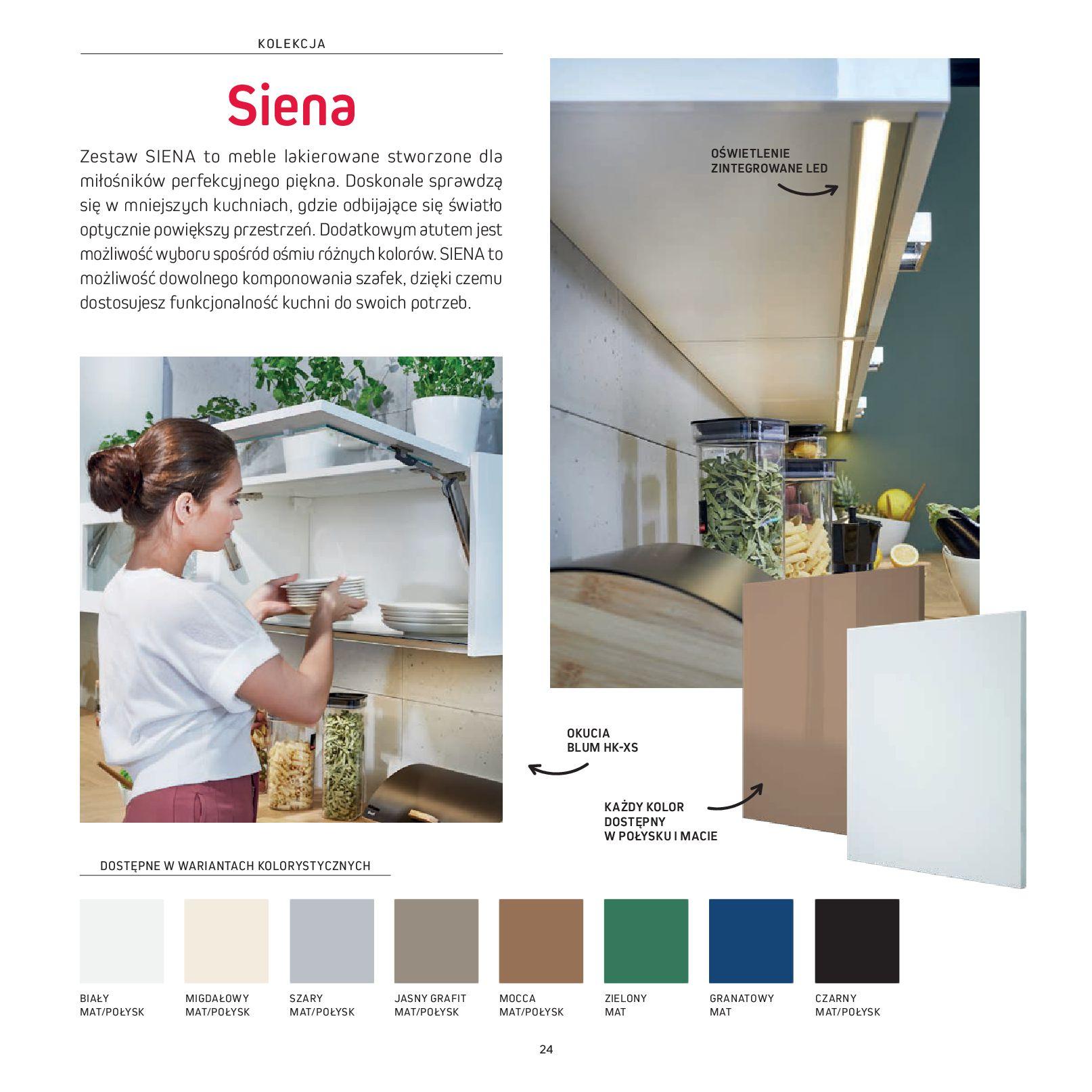Gazetka Komfort: Gazetka Komfort - Katalog Kuchnie 2021 2021-06-16 page-26