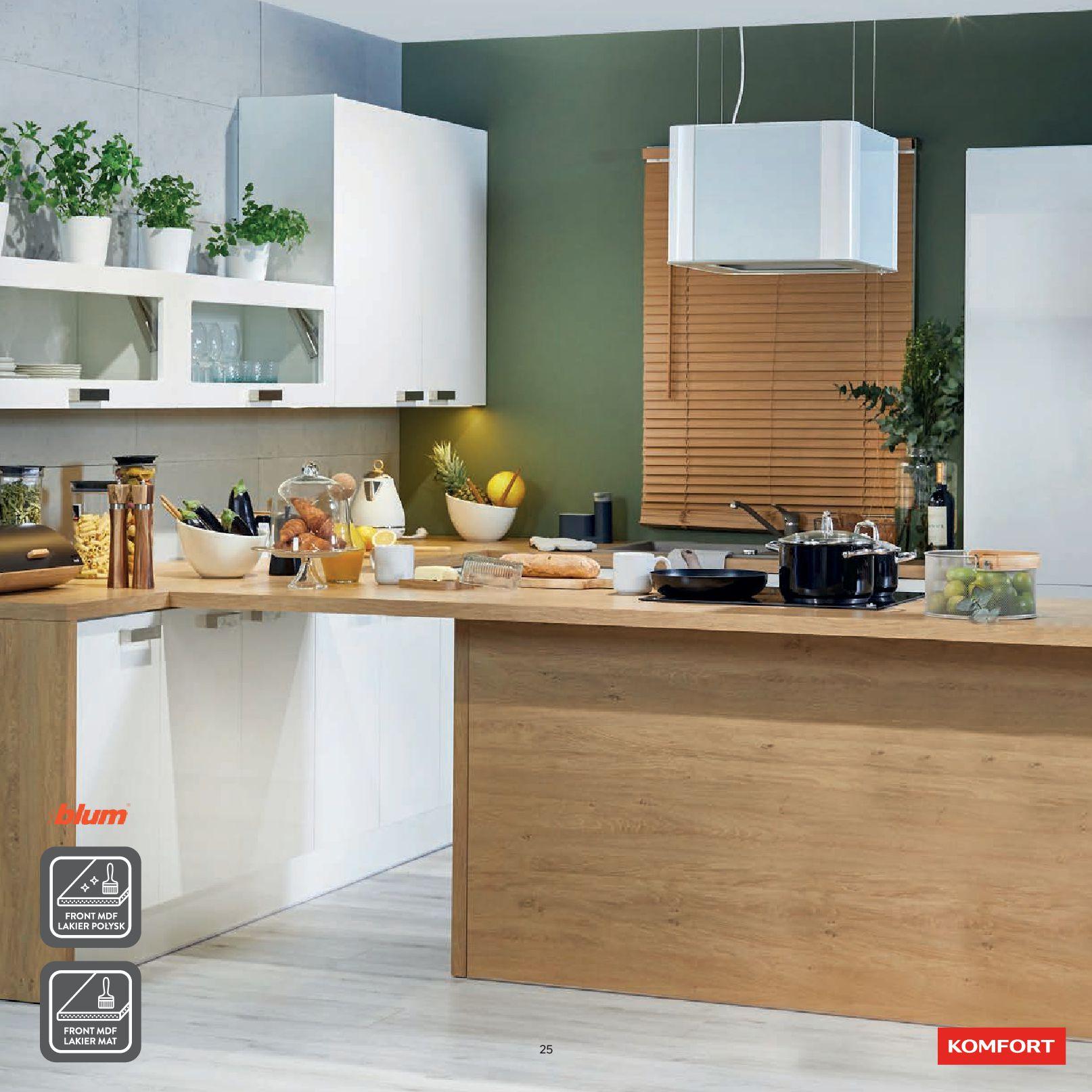Gazetka Komfort: Gazetka Komfort - Katalog Kuchnie 2021 2021-06-16 page-27