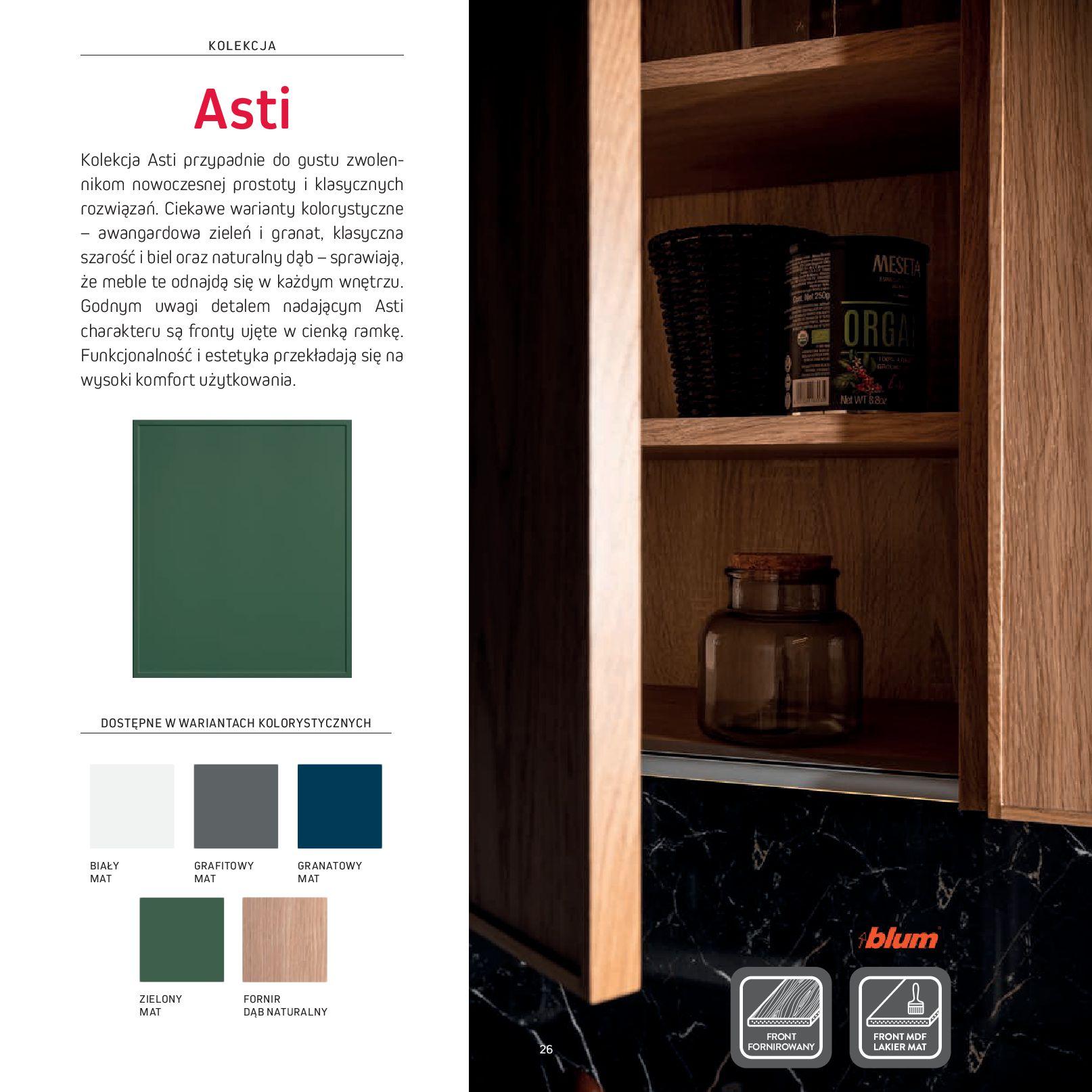 Gazetka Komfort: Gazetka Komfort - Katalog Kuchnie 2021 2021-06-16 page-28