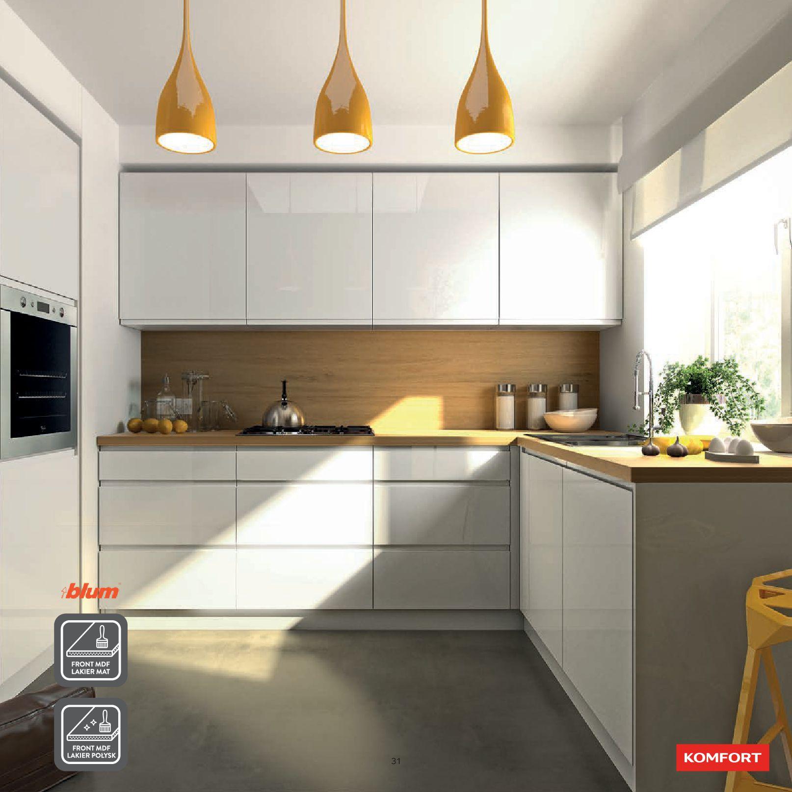 Gazetka Komfort: Gazetka Komfort - Katalog Kuchnie 2021 2021-06-16 page-33