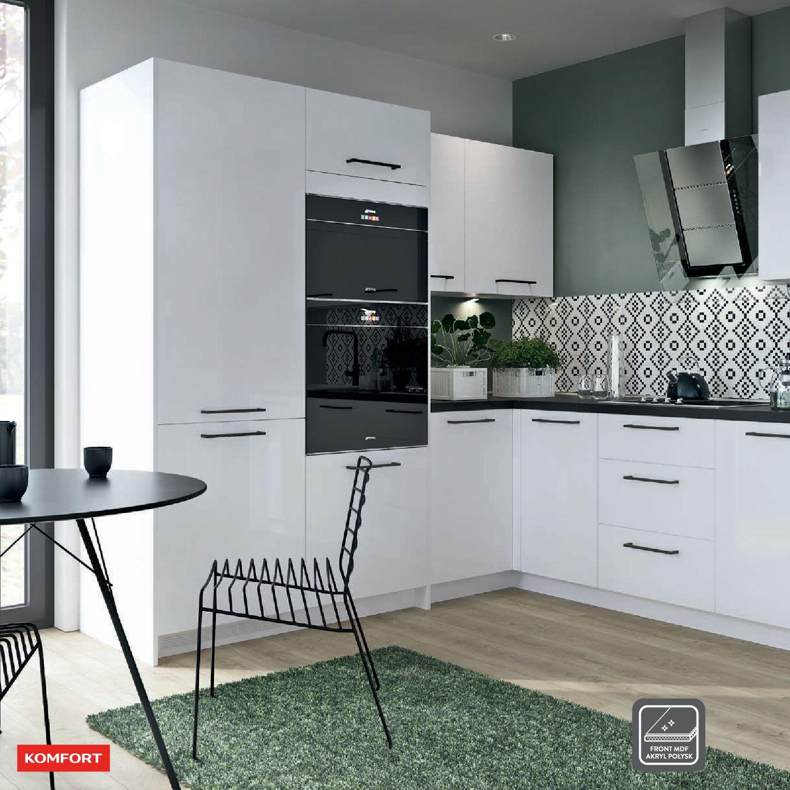 Gazetka Komfort: Gazetka Komfort - Katalog Kuchnie 2021 2021-06-16 page-36