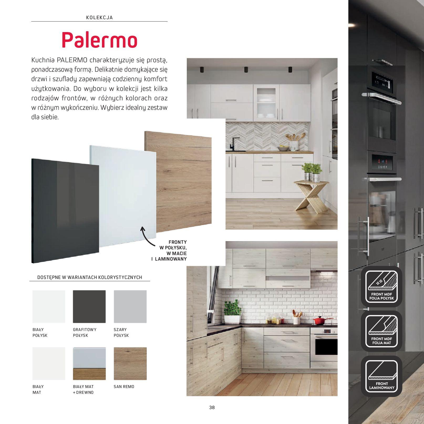 Gazetka Komfort: Gazetka Komfort - Katalog Kuchnie 2021 2021-06-16 page-40