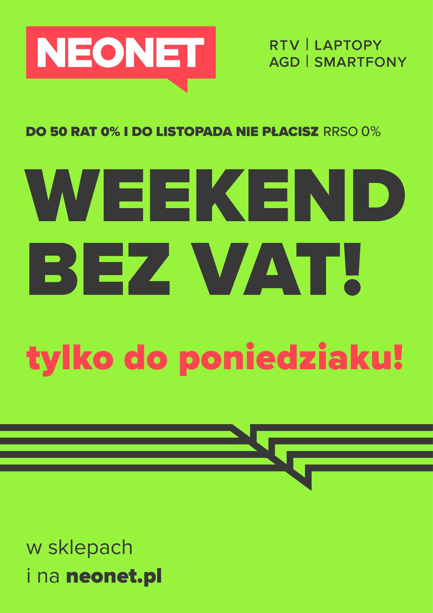 Neonet:  Weekend bez vat 22.04.2021