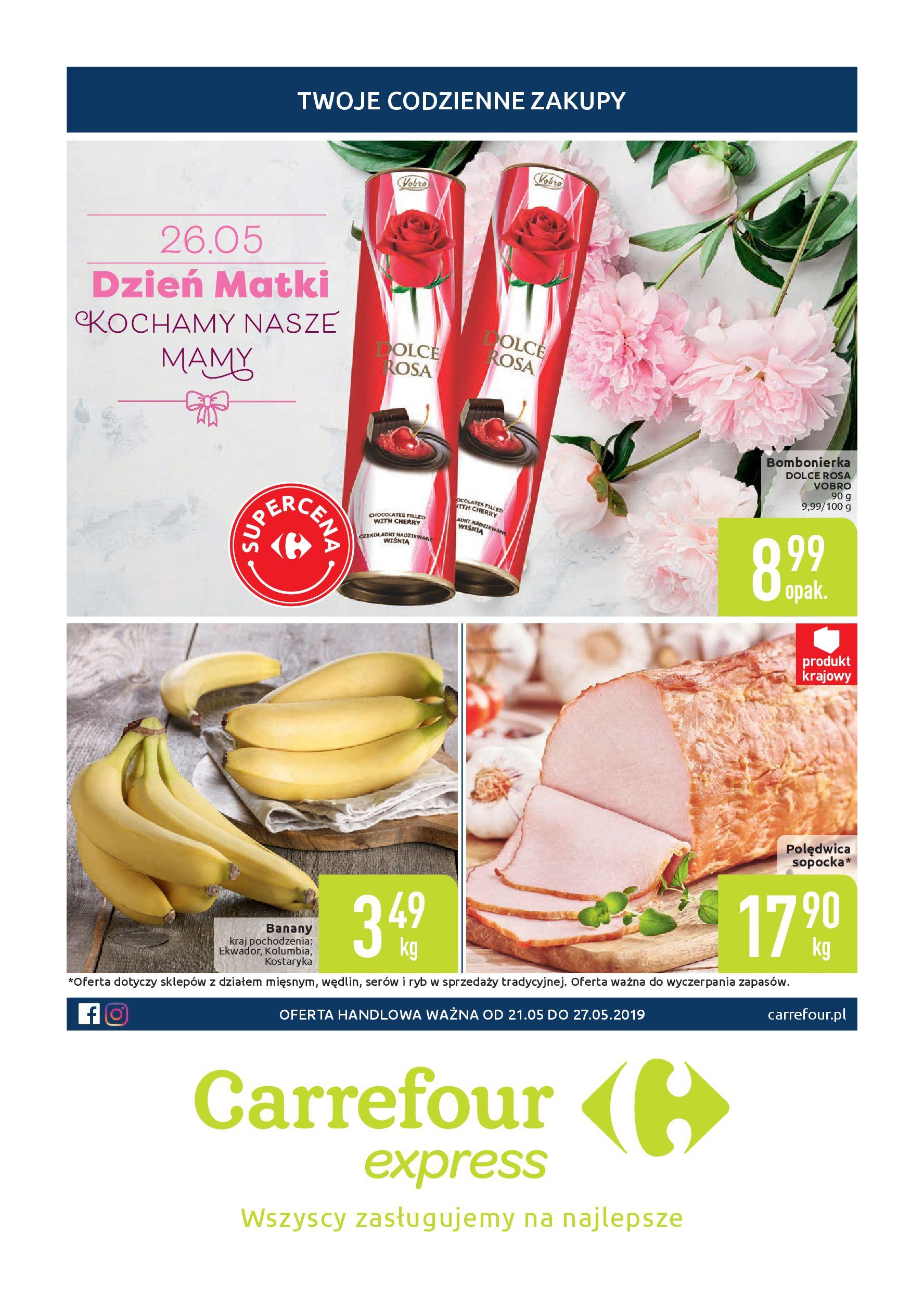 Gazetka Carrefour Express - Twoje codzienne zakupy-20.05.2019-27.05.2019-page-
