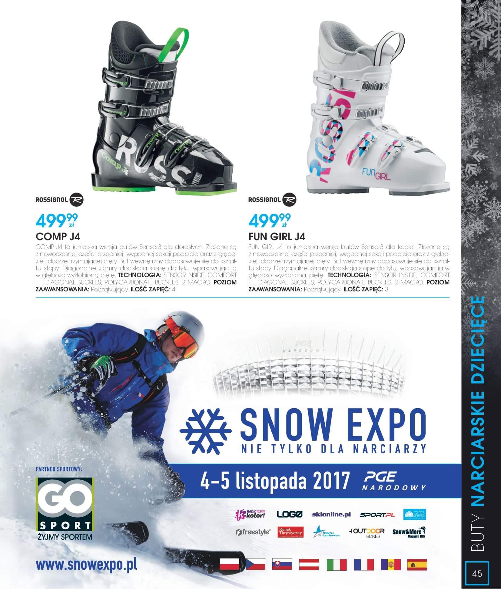 Gazetka Go Sport - Katalog Zima 2017/2018-12.11.2017-28.02.2018-page-45