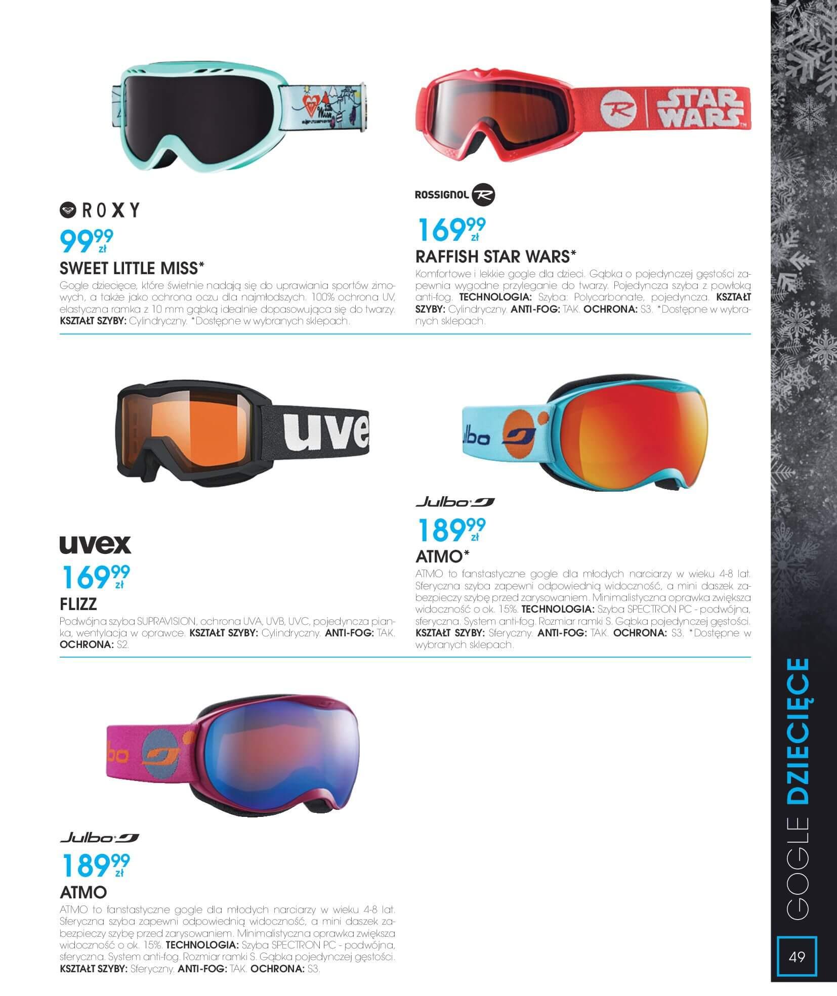 Gazetka Go Sport - Katalog Zima 2017/2018-12.11.2017-28.02.2018-page-49