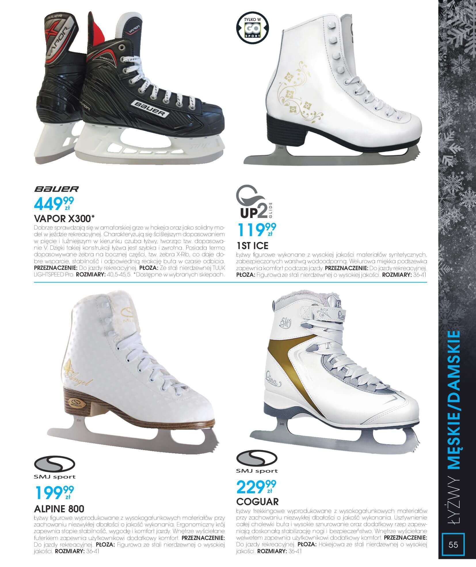 Gazetka Go Sport - Katalog Zima 2017/2018-12.11.2017-28.02.2018-page-55