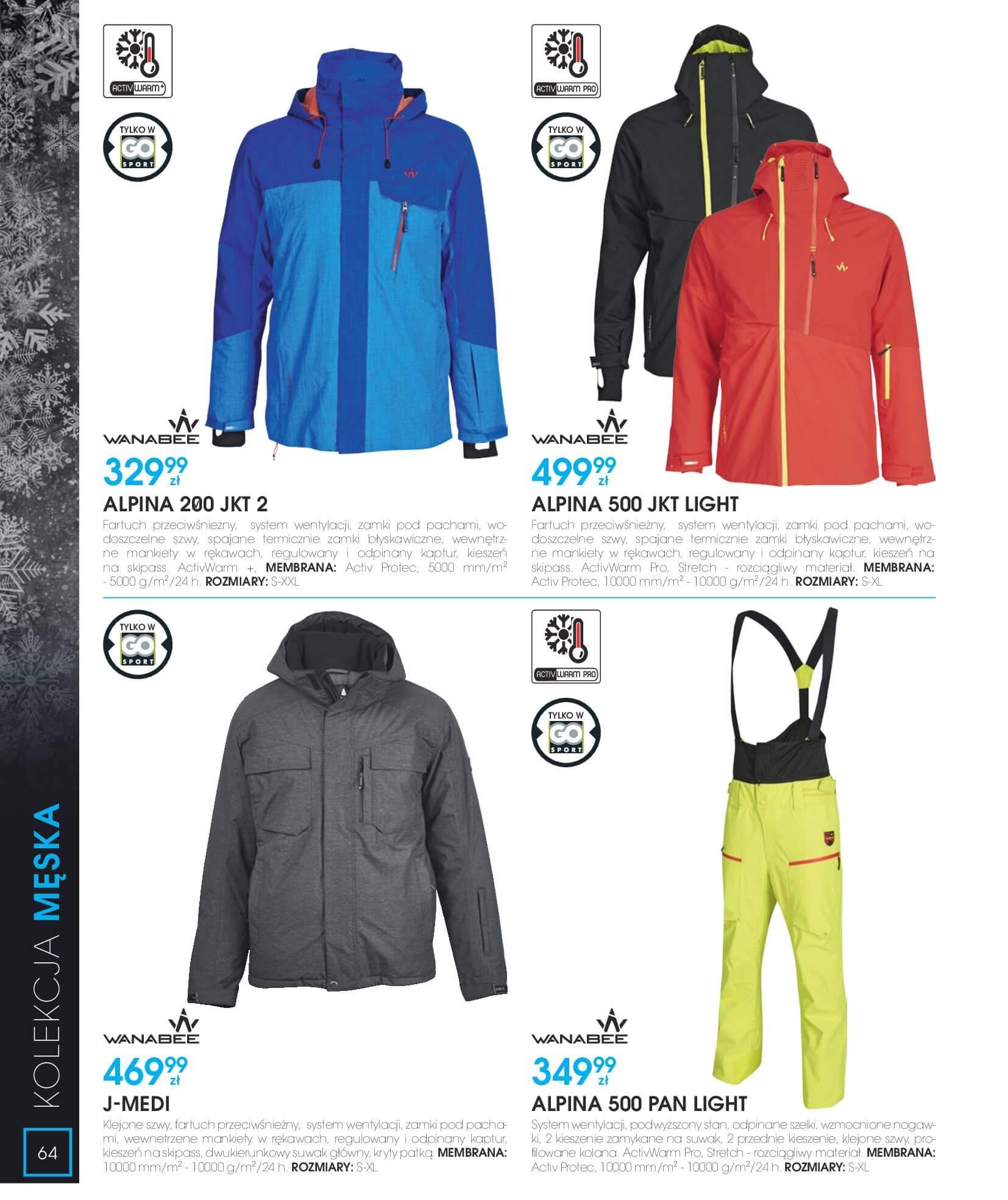 Gazetka Go Sport - Katalog Zima 2017/2018-12.11.2017-28.02.2018-page-64