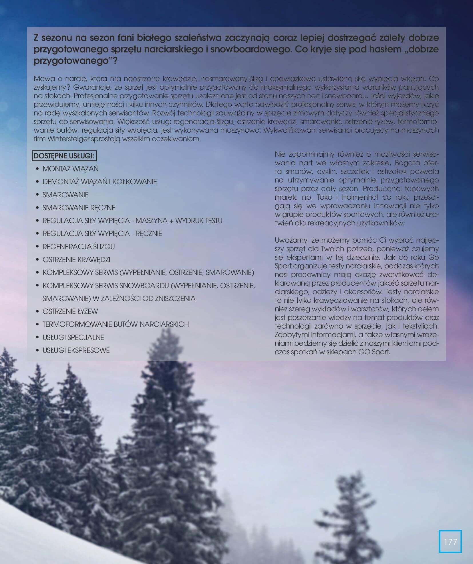 Gazetka Go Sport - Katalog Zima 2017/2018-12.11.2017-28.02.2018-page-177