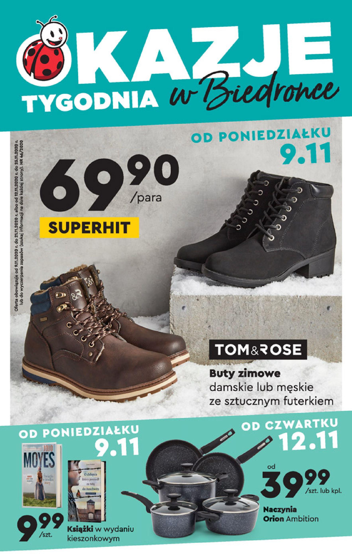 Gazetka Biedronka - Okazje tygodnia od 9.11-08.11.2020-25.11.2020-page-1