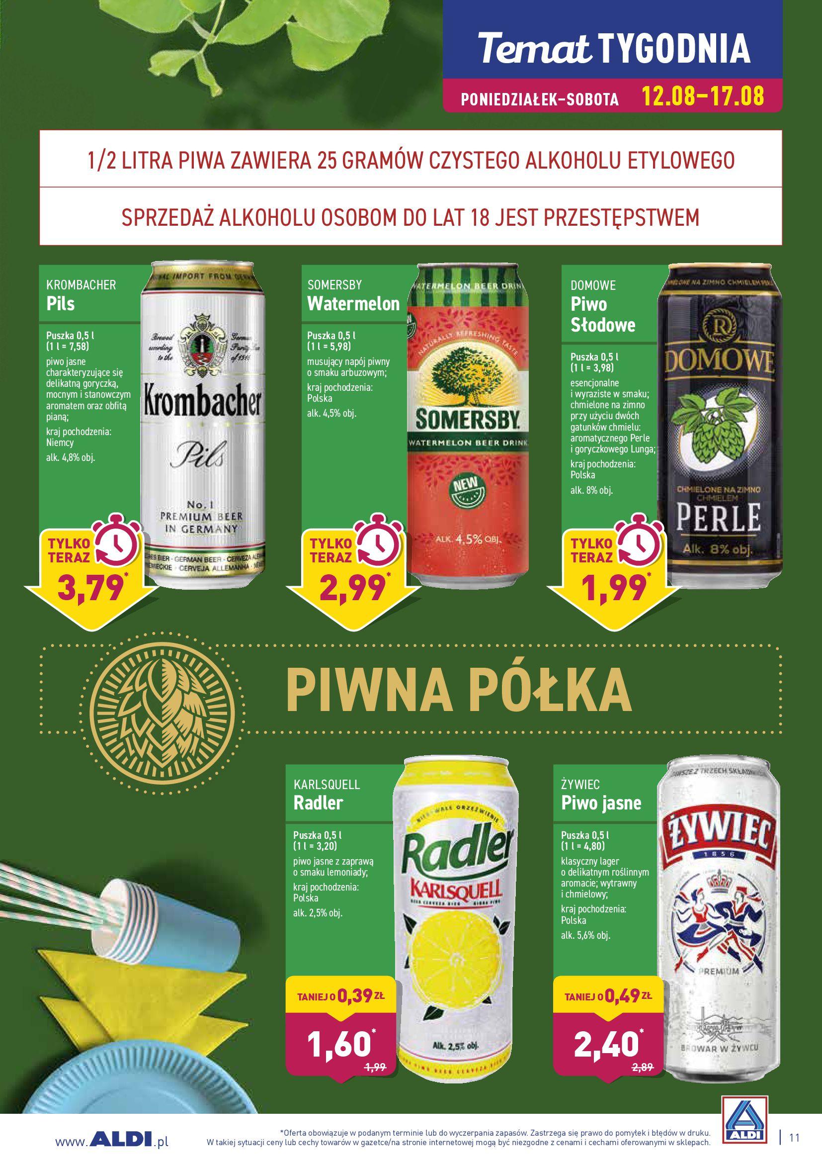 Gazetka Aldi - DOBRA OKAZJA NA GARDEN PARTY!-11.08.2019-18.08.2019-page-11