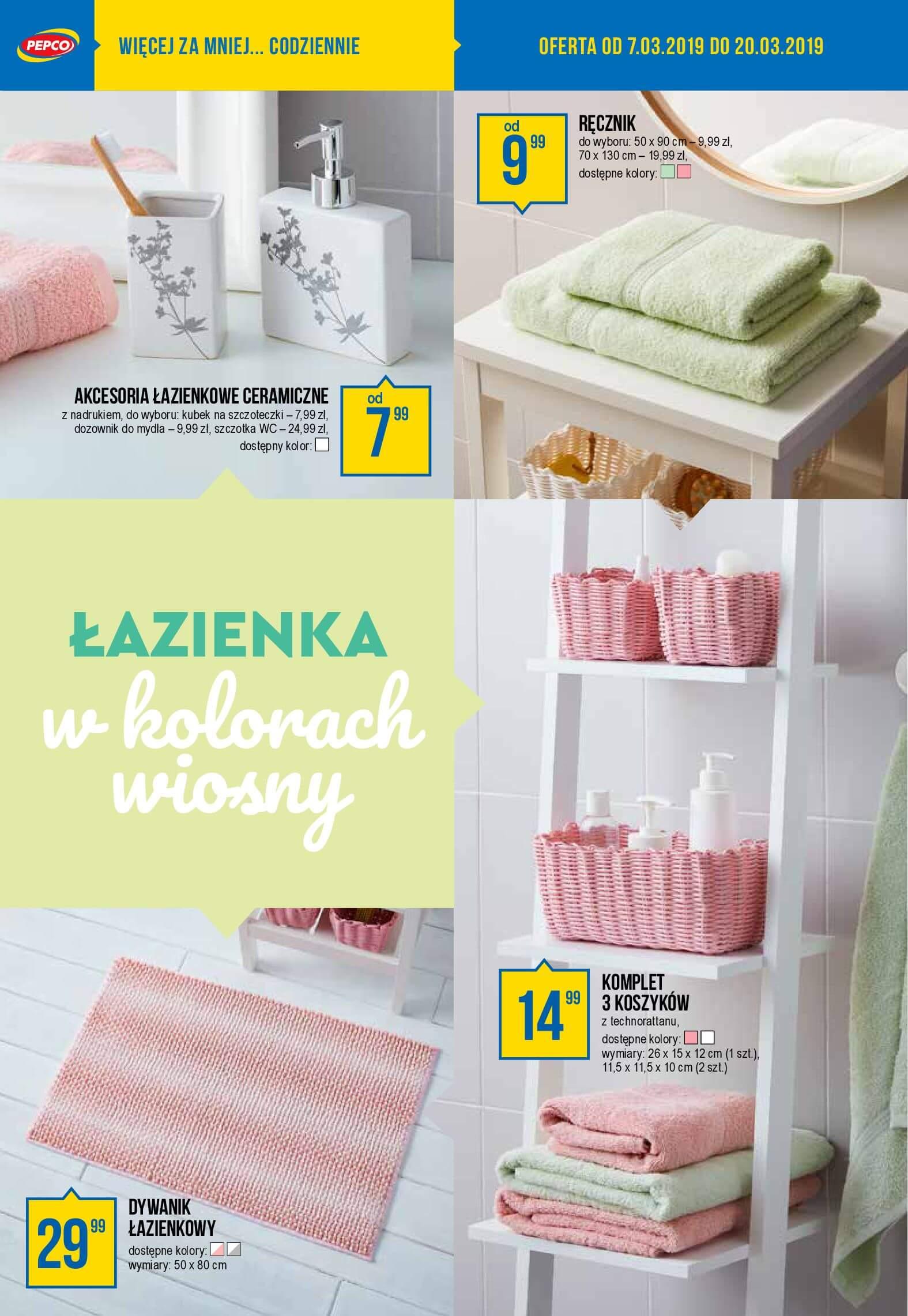 Gazetka Pepco - Wiosenna szafa modnie i niedrogo-06.03.2019-20.03.2019-page-