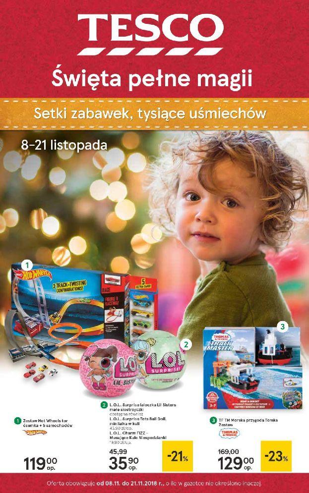 Gazetka Tesco - Święta pełne magii-06.11.2018-21.11.2018-page-