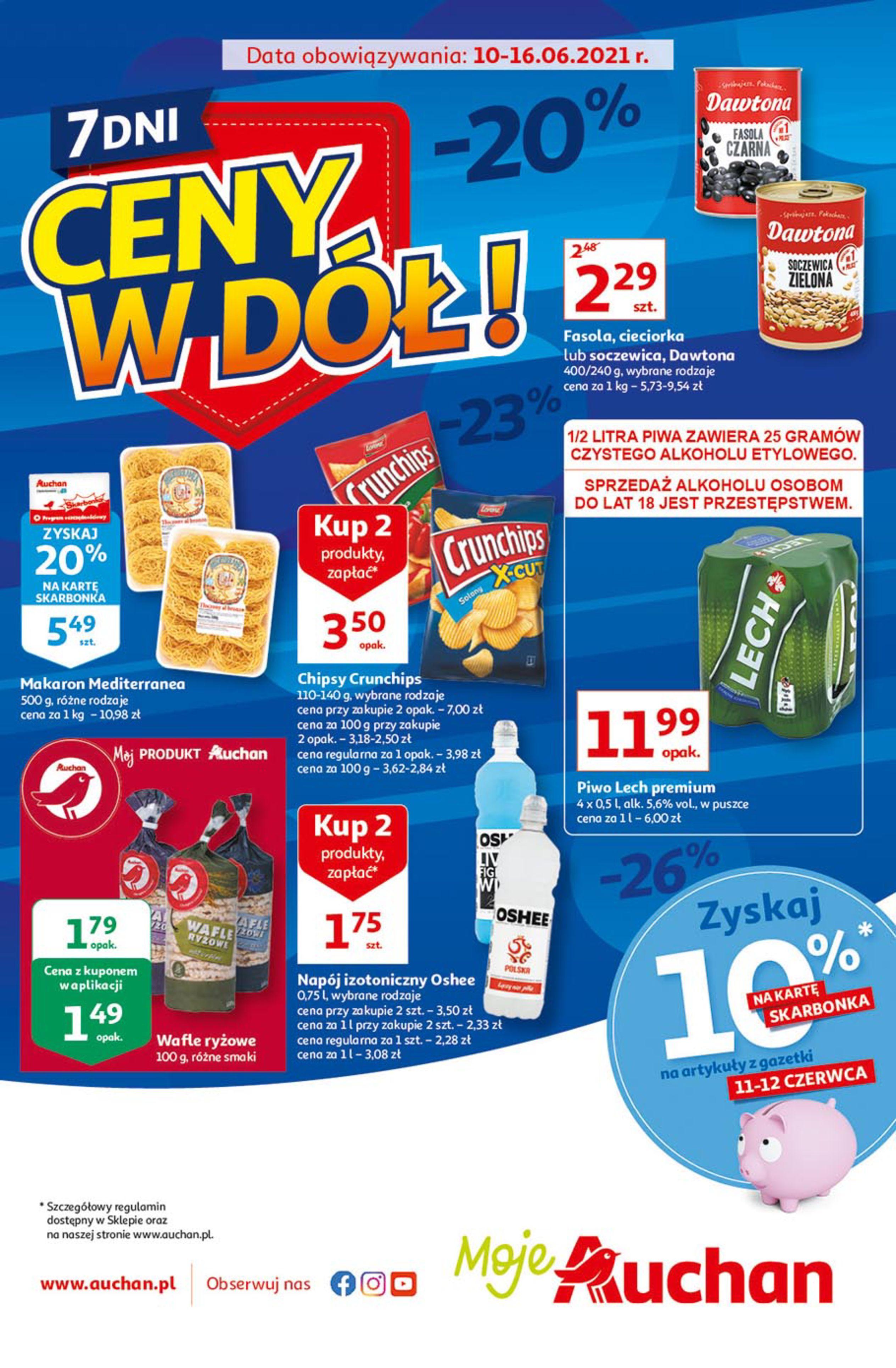 Gazetka Auchan: Gazetka Auchan - Ceny w dół 2021-06-10 page-2