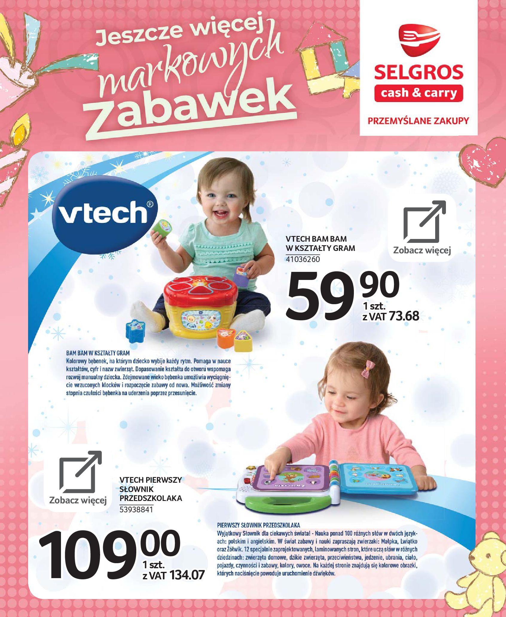 Gazetka Selgros - Katalog zabawek-20.11.2019-24.12.2019-page-5