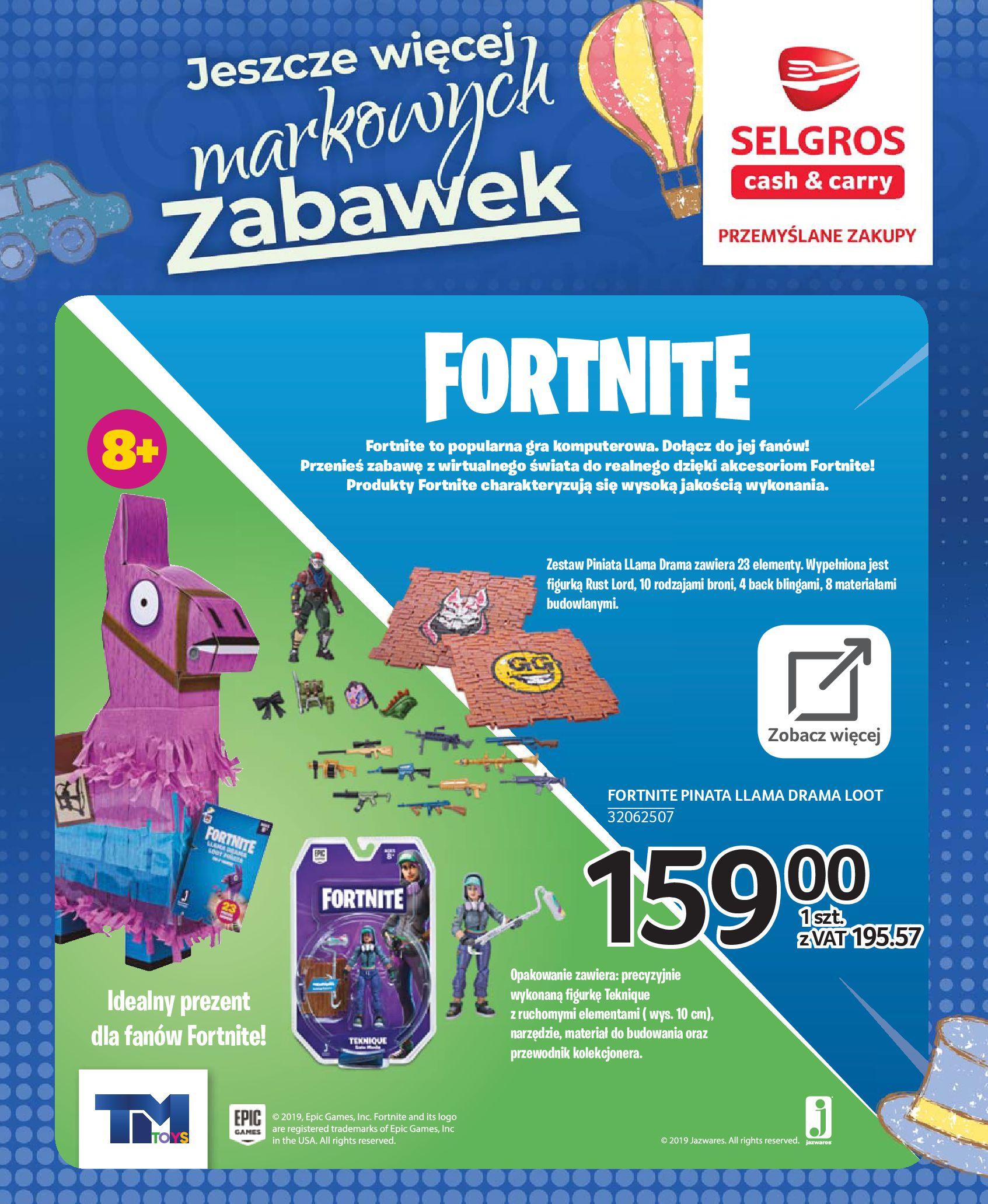 Gazetka Selgros - Katalog zabawek-20.11.2019-24.12.2019-page-45