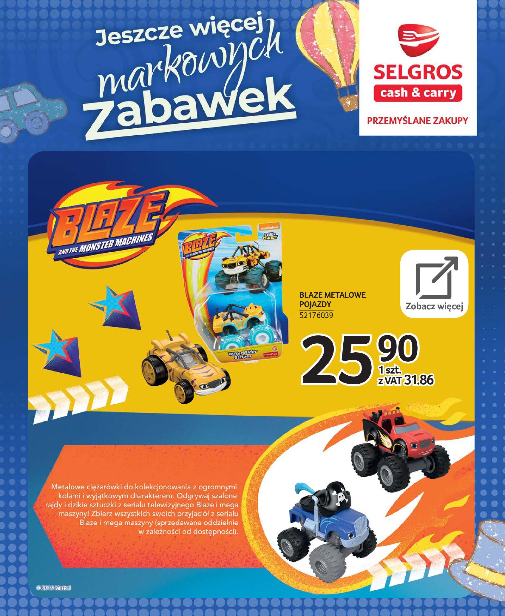Gazetka Selgros - Katalog zabawek-20.11.2019-24.12.2019-page-50