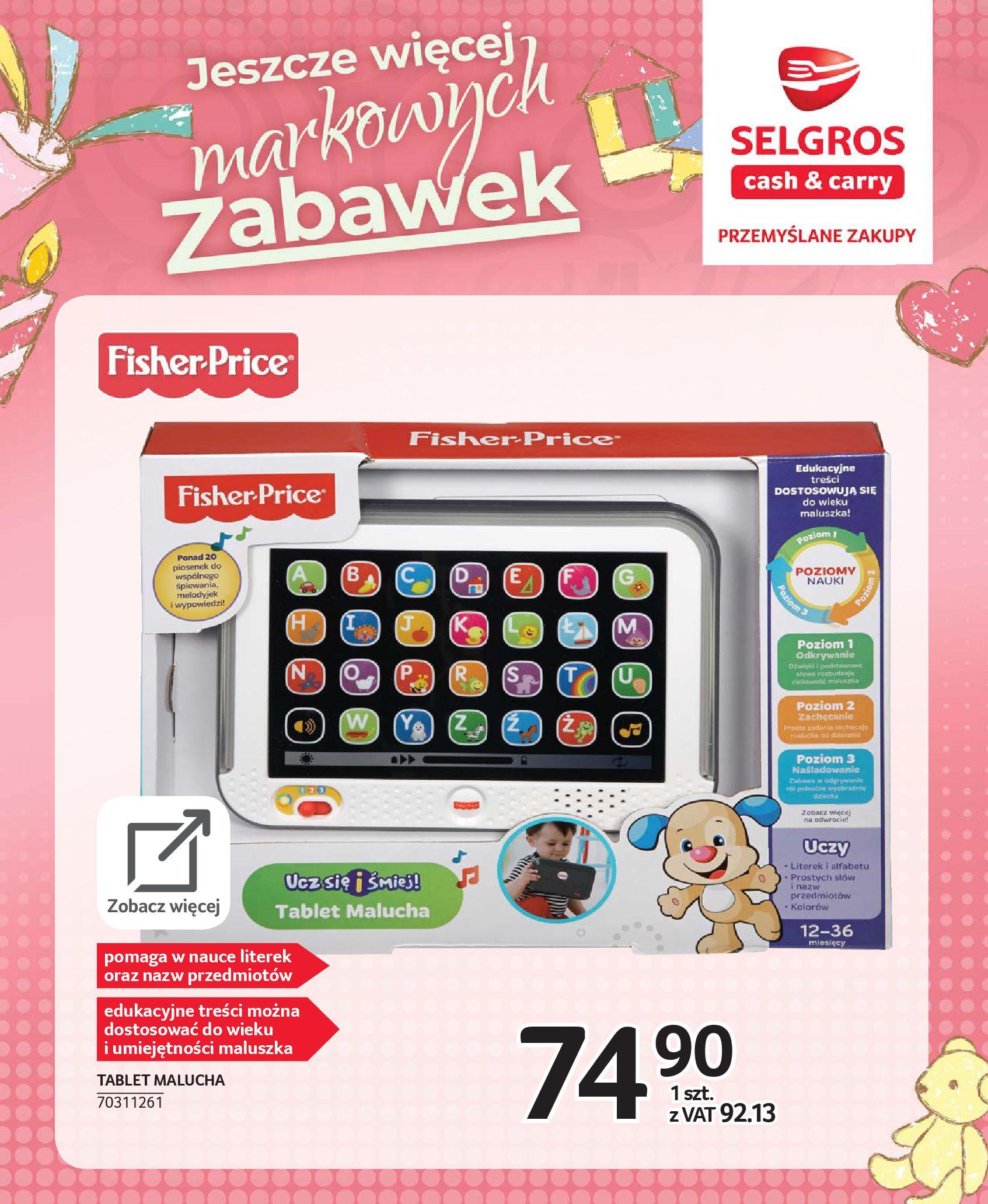 Gazetka Selgros - Katalog zabawek-20.11.2019-24.12.2019-page-6